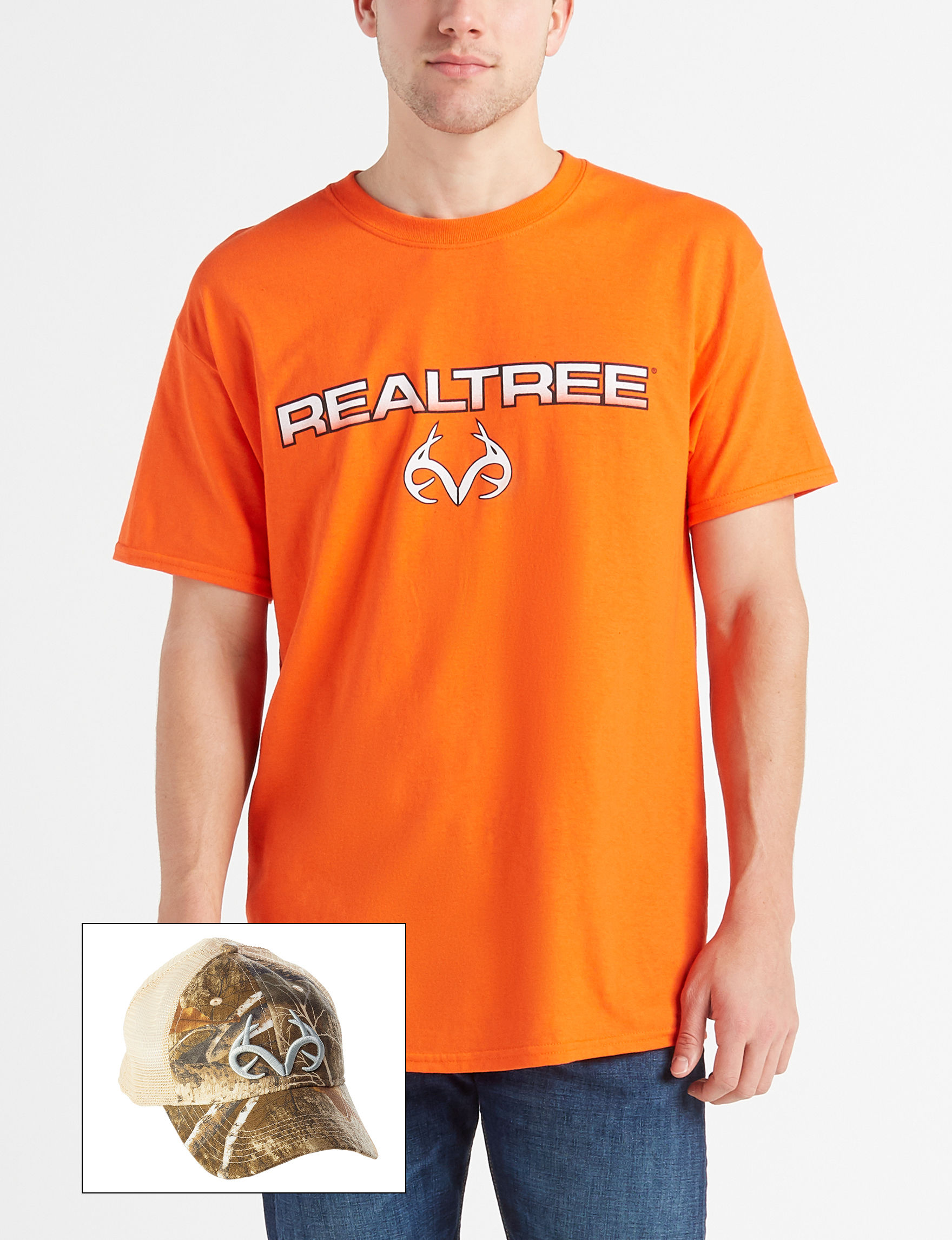 Realtree Orange Camo Hats & Headwear Tees & Tanks