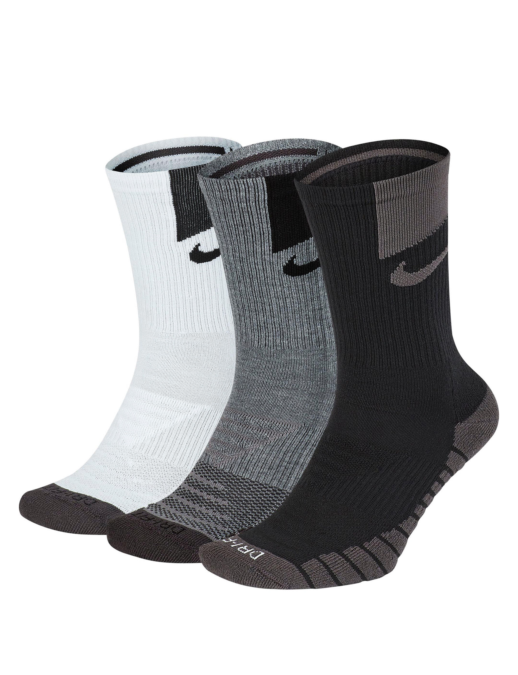 Nike Brown Multi Socks