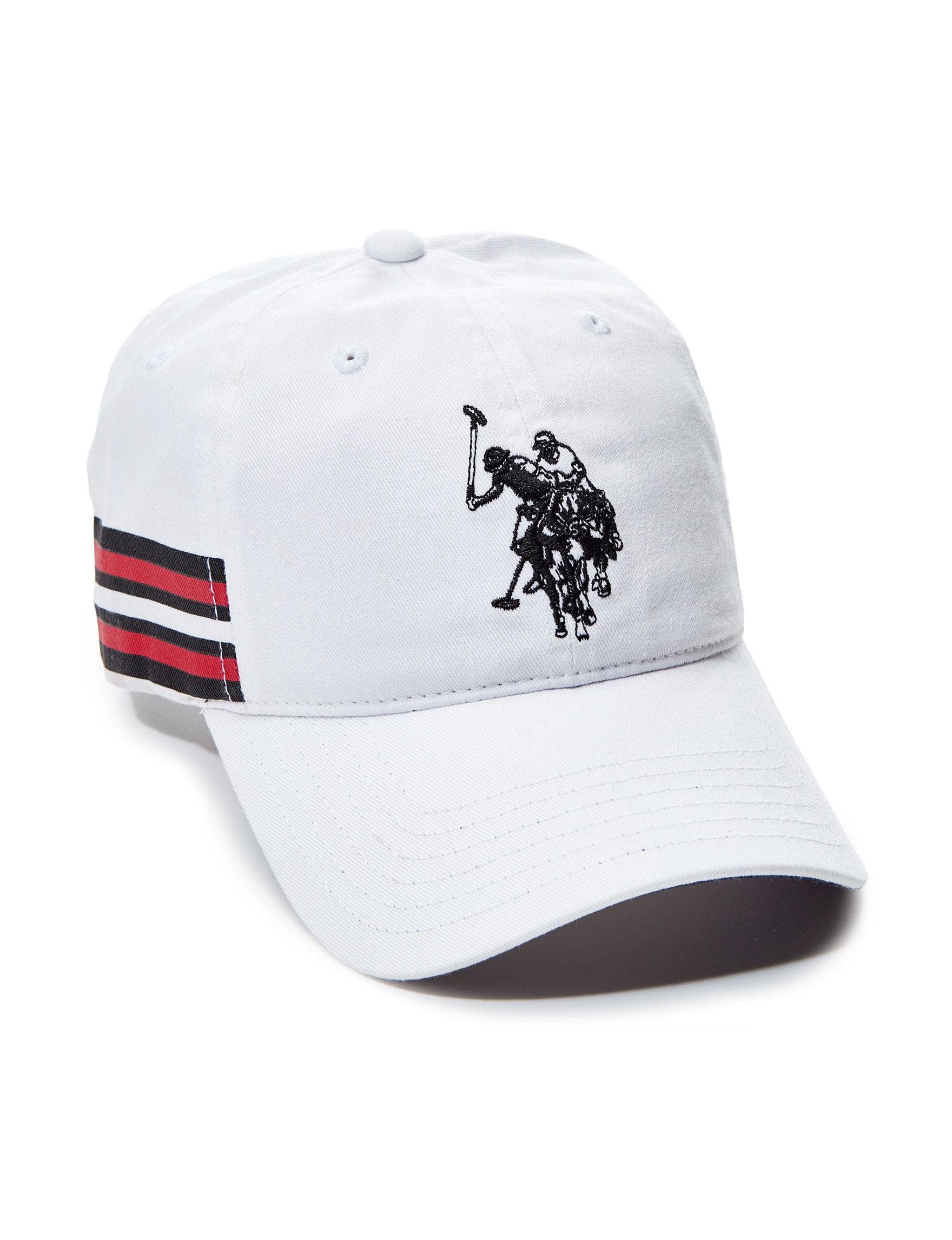 U.S. Polo Assn. White Hats & Headwear Baseball Caps