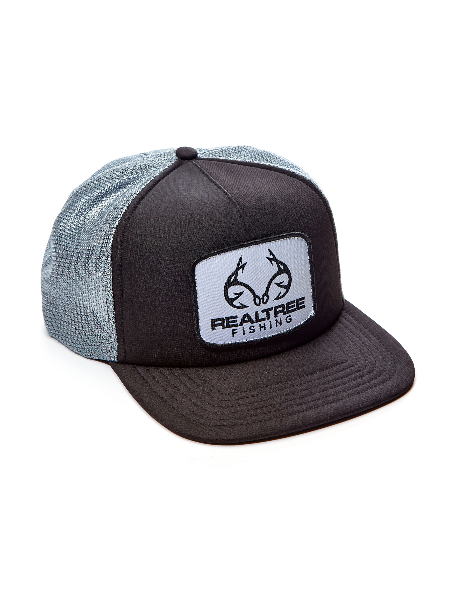 Realtree Black / Grey Hats & Headwear
