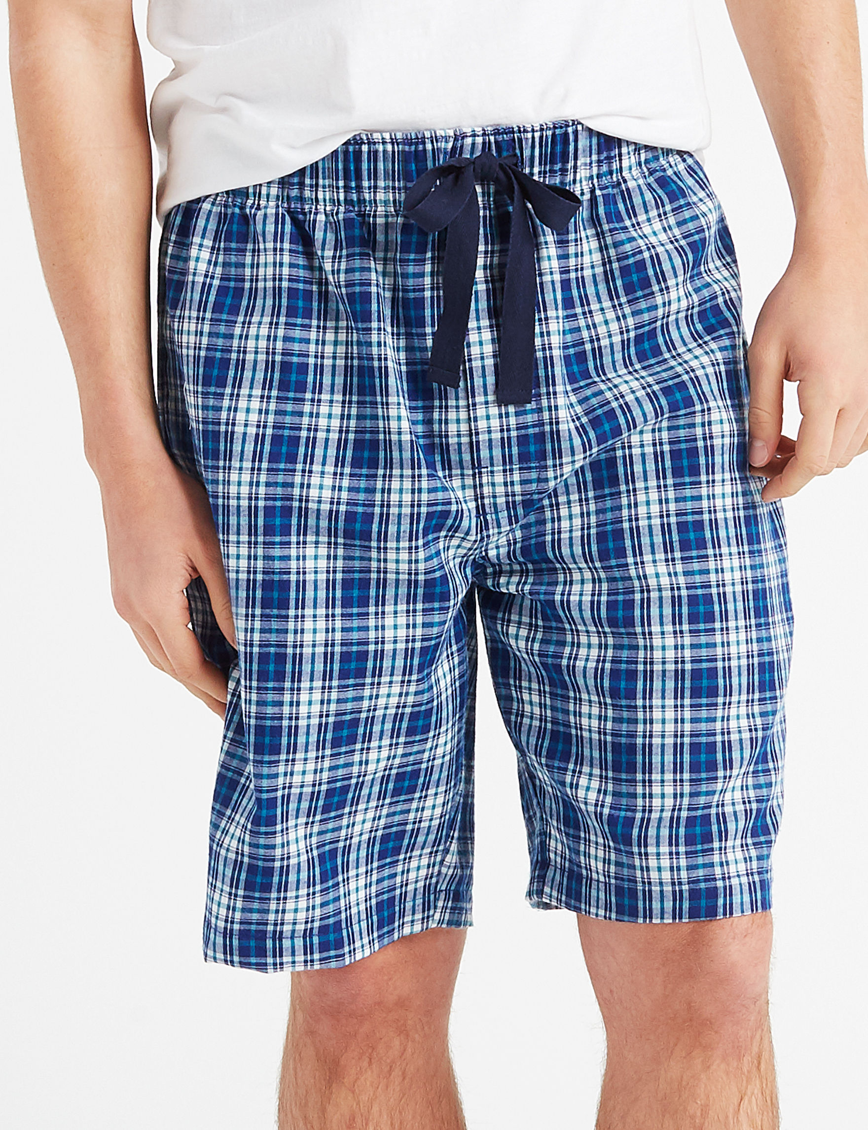Izod Blue / White Pajama Bottoms