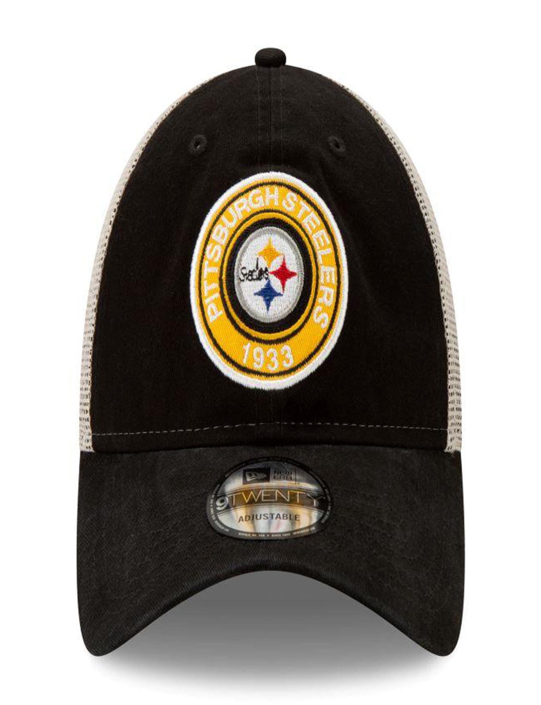 NFL Black / White Hats & Headwear
