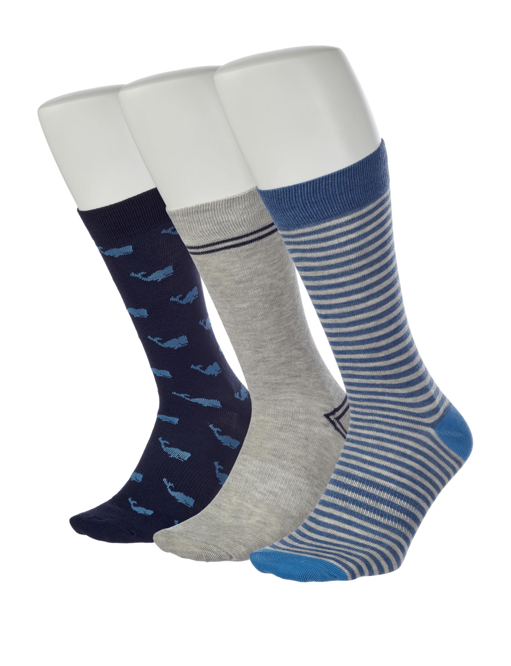 Ivy Crew Blue / Multi Socks