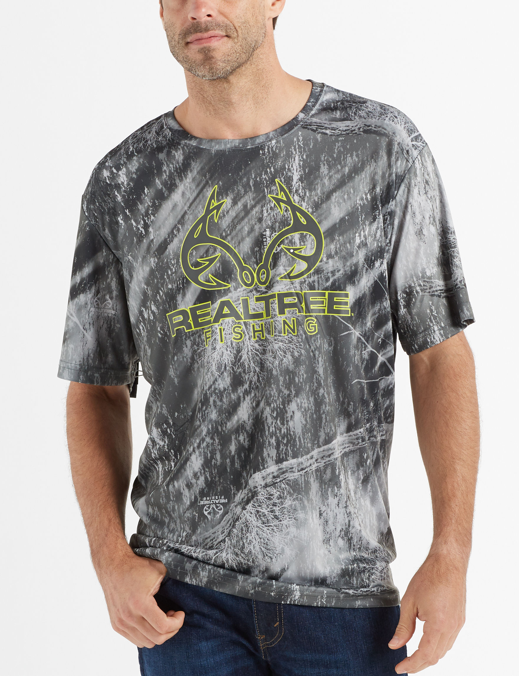 5f6786f4227e5 Realtree Men's Camo Fishing T-shirt | Stage Stores