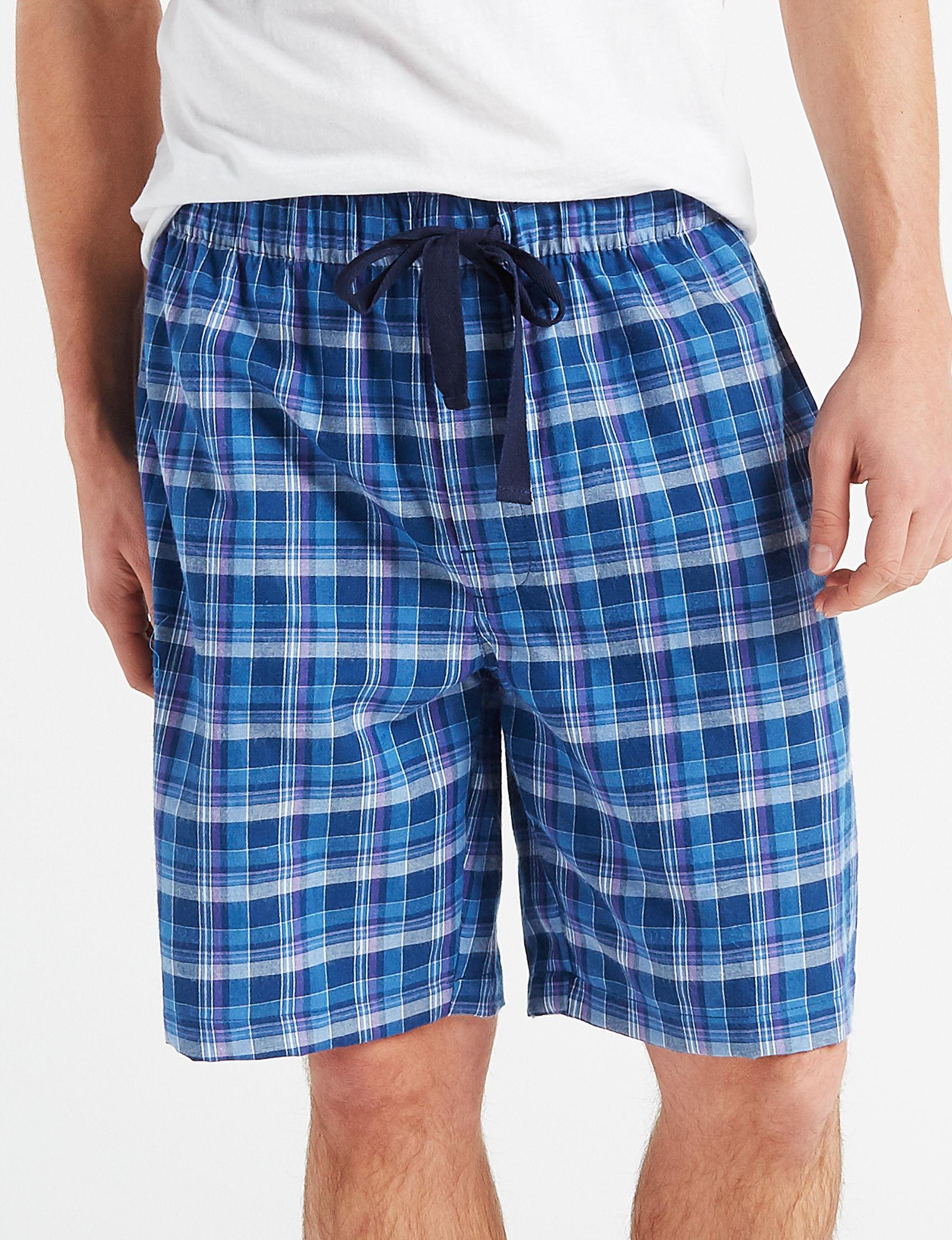 Izod Blue / Purple Pajama Bottoms