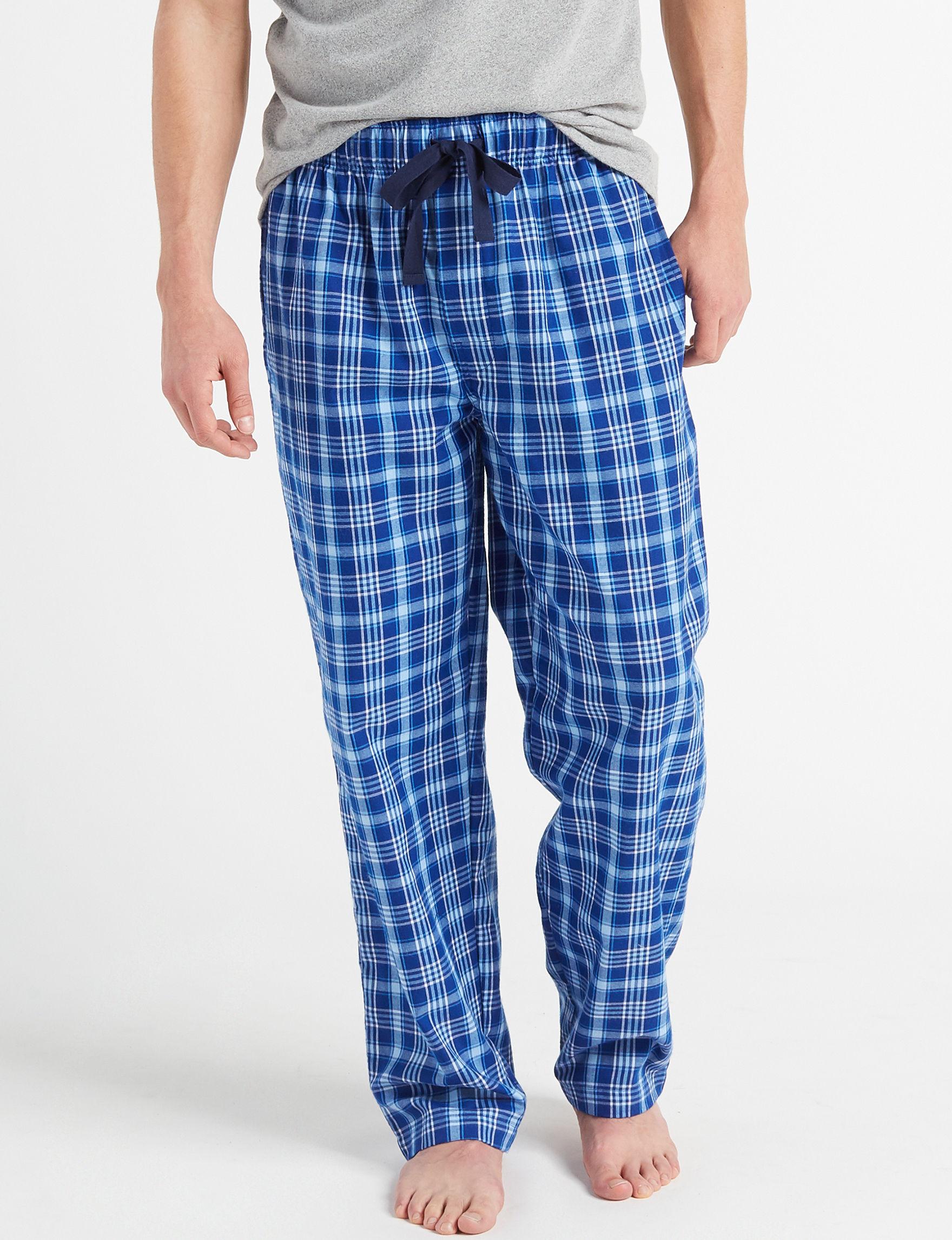 Izod Navy / White Pajama Bottoms