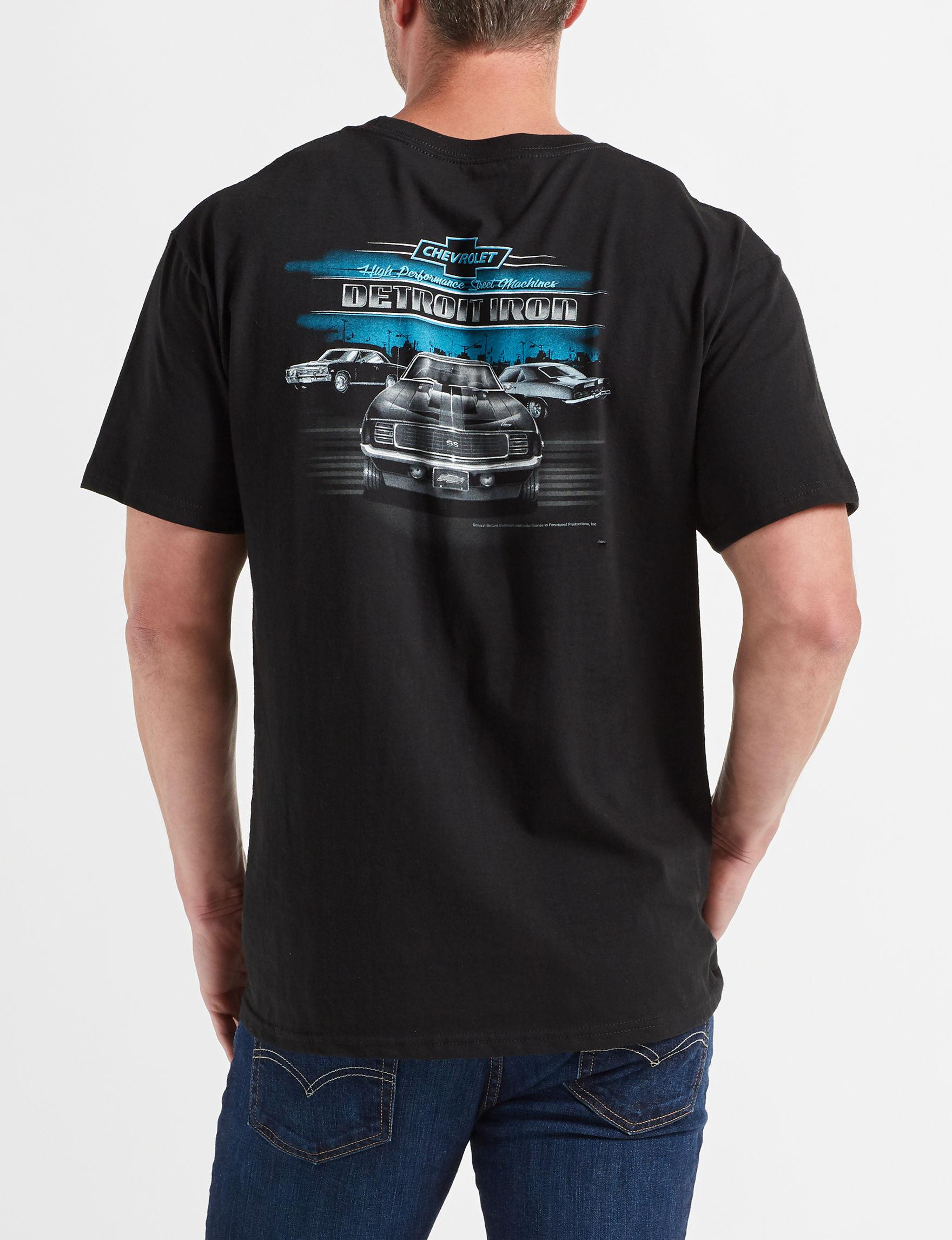 Licensed Black Tees & Tanks
