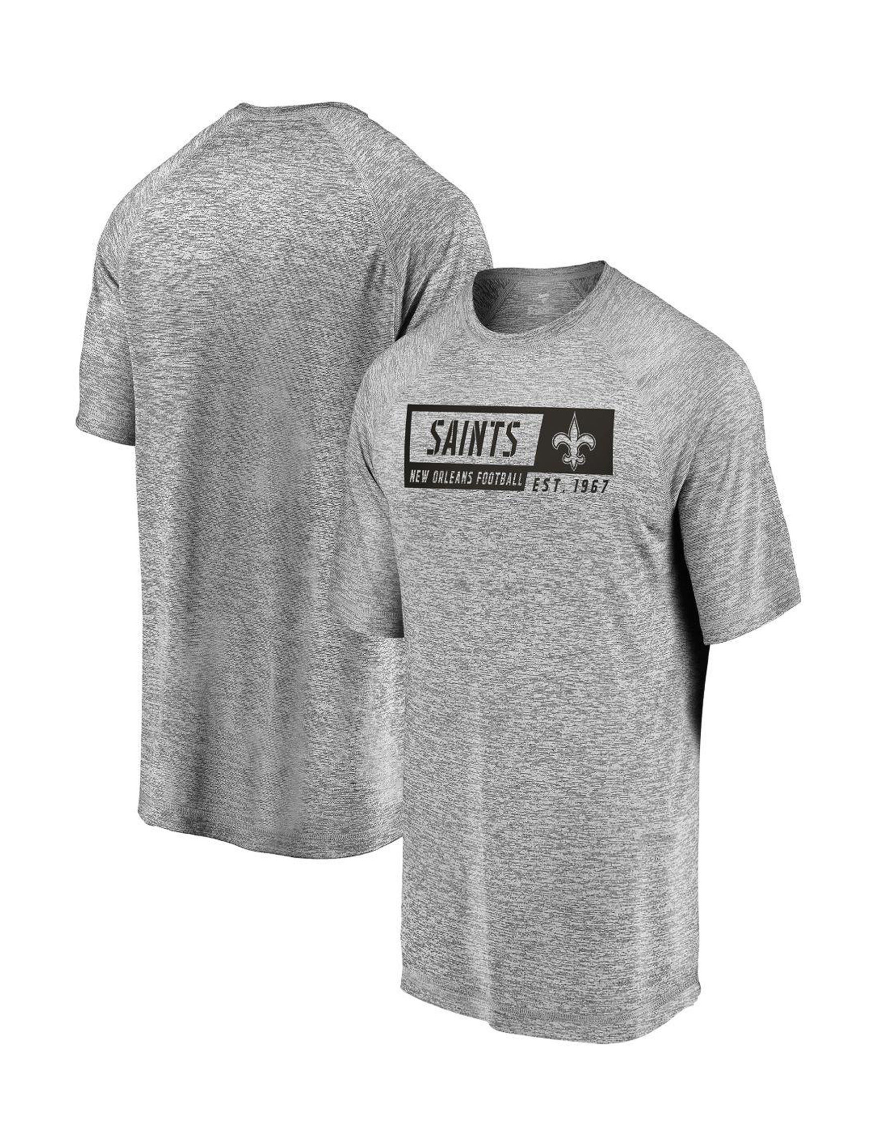 NFL Heather Grey Tees & Tanks
