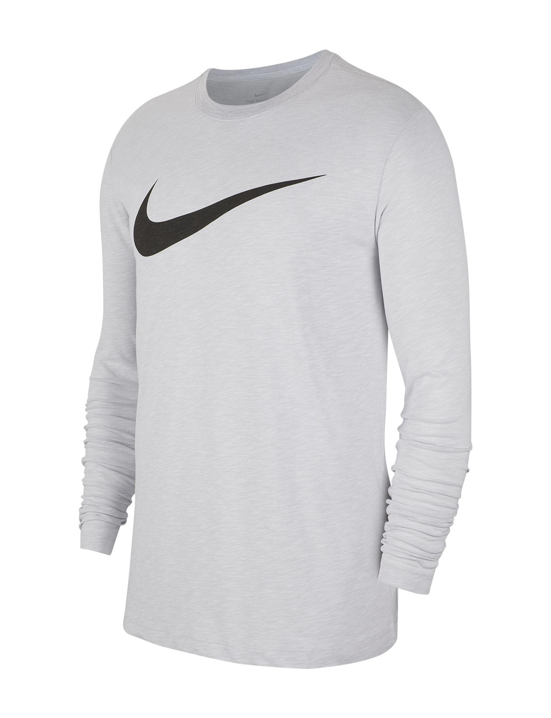 Nike White / Multi Tees & Tanks