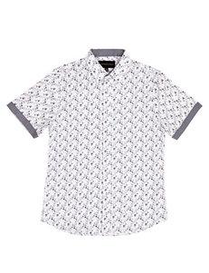 26b1842a027d1 Signature Studio Men's Ditzy Floral Woven Shirt