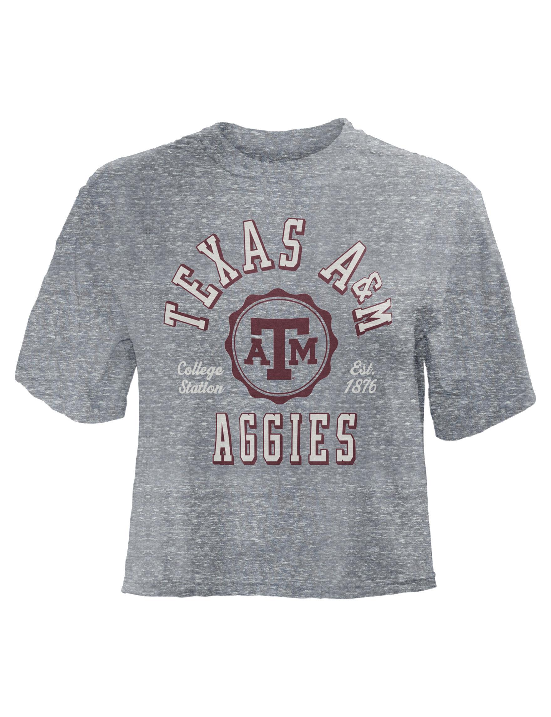 NCAA Grey / Multi Tees & Tanks