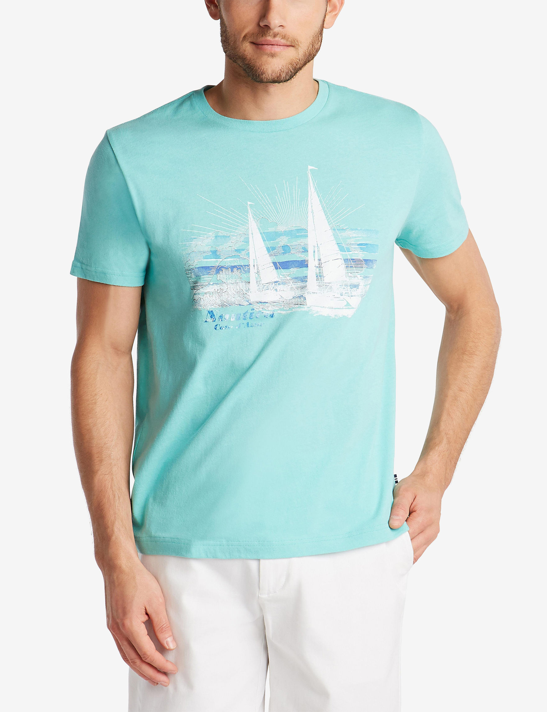 Nautica Poolside Aqua Tees & Tanks