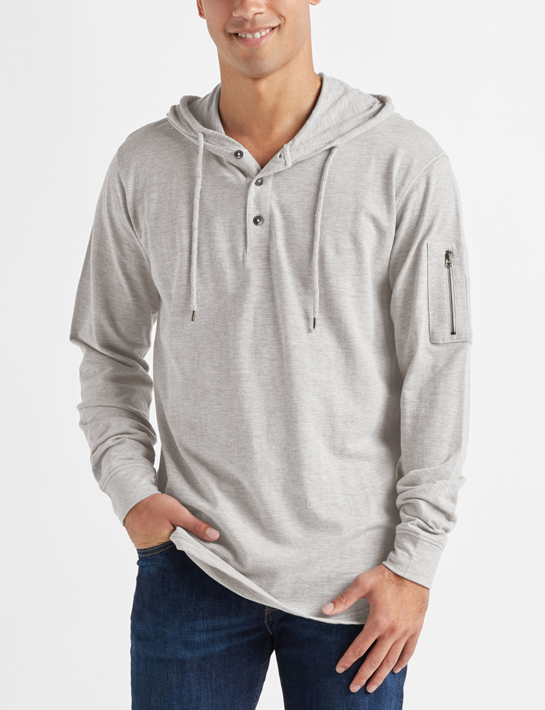 Modern Culture Heather Grey Pull-overs