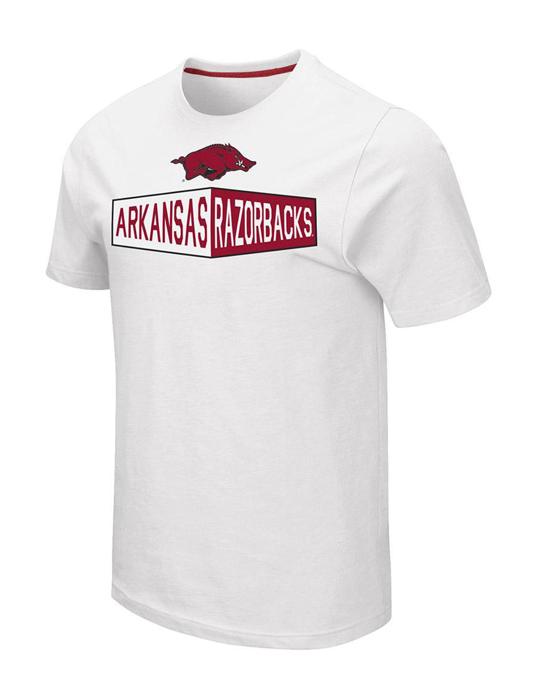 NCAA White Tees & Tanks