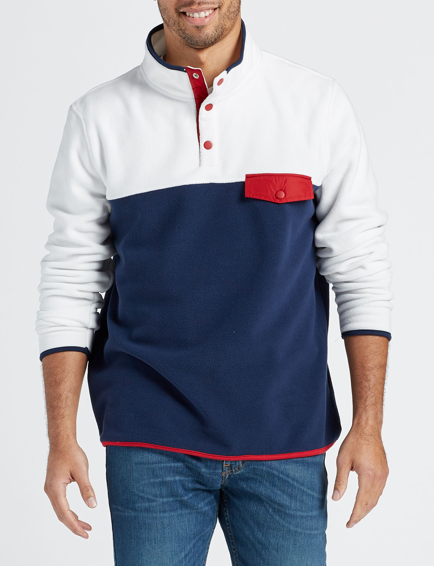 Company 81 White / Multi Pull-overs