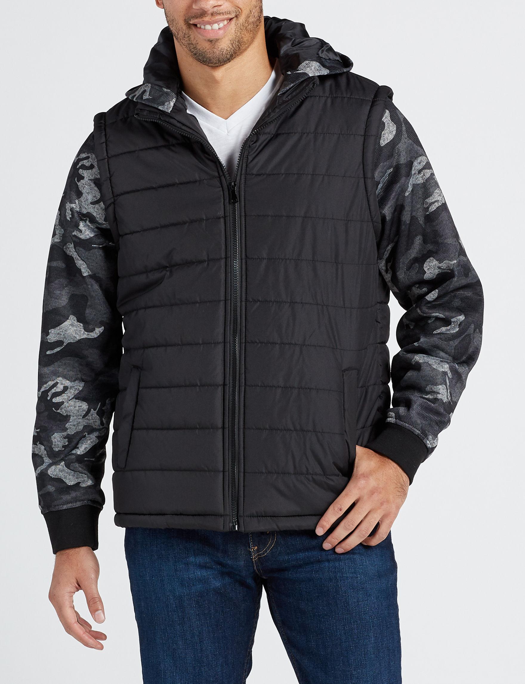 Surplus Black / Multi Fleece & Soft Shell Jackets