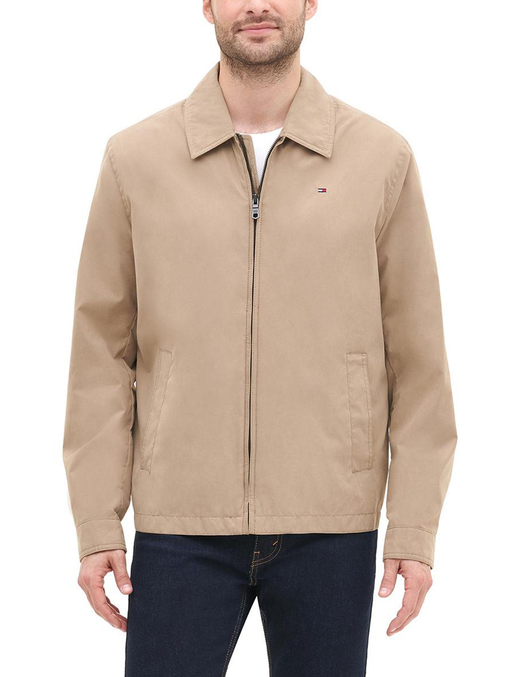 Tommy Hilfiger Khaki Lightweight Jackets & Blazers
