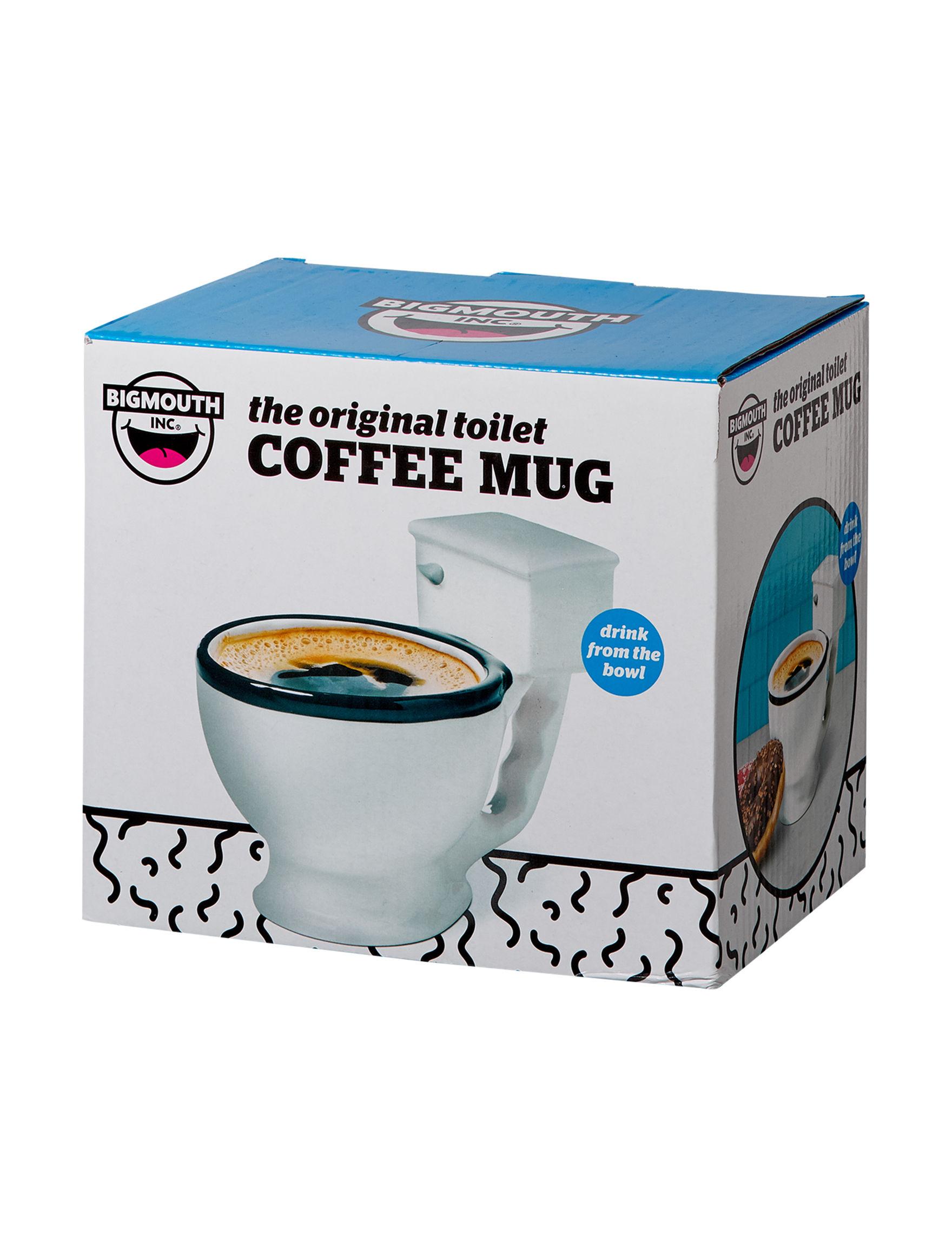 Big Mouth White Mugs Drinkware