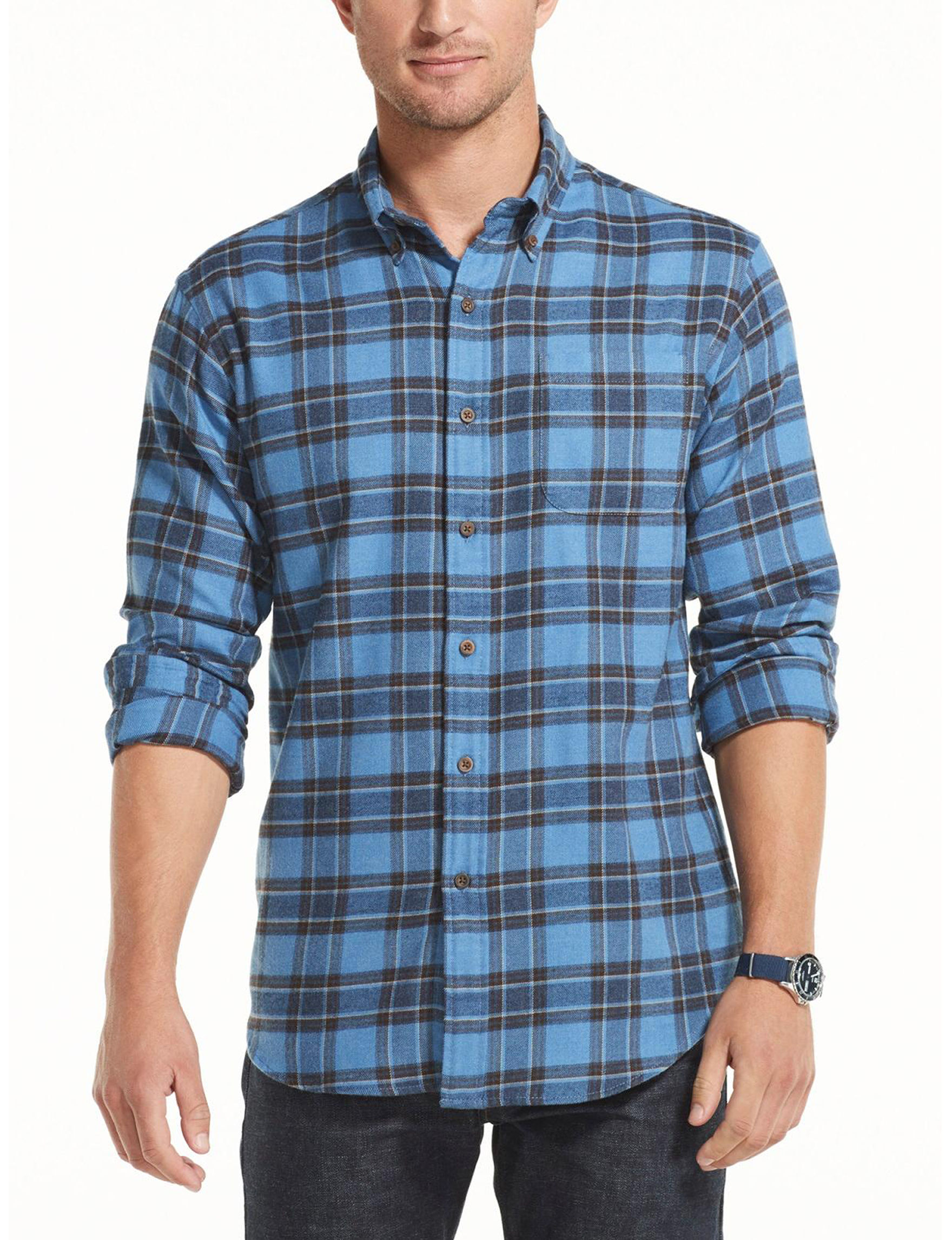 Arrow Delft Casual Button Down Shirts