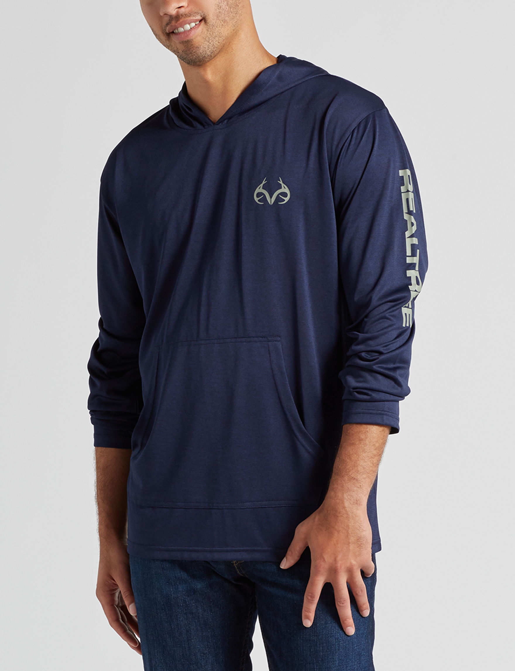 Realtree Airforce Blue Pull-overs
