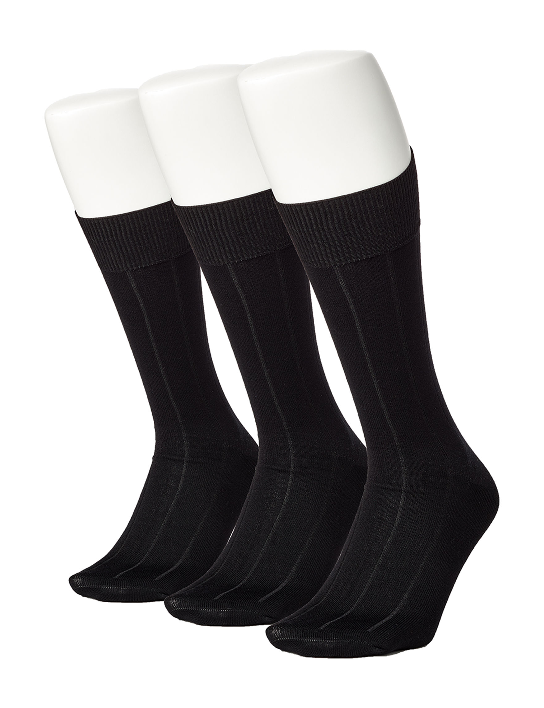 Perry Ellis Black Socks
