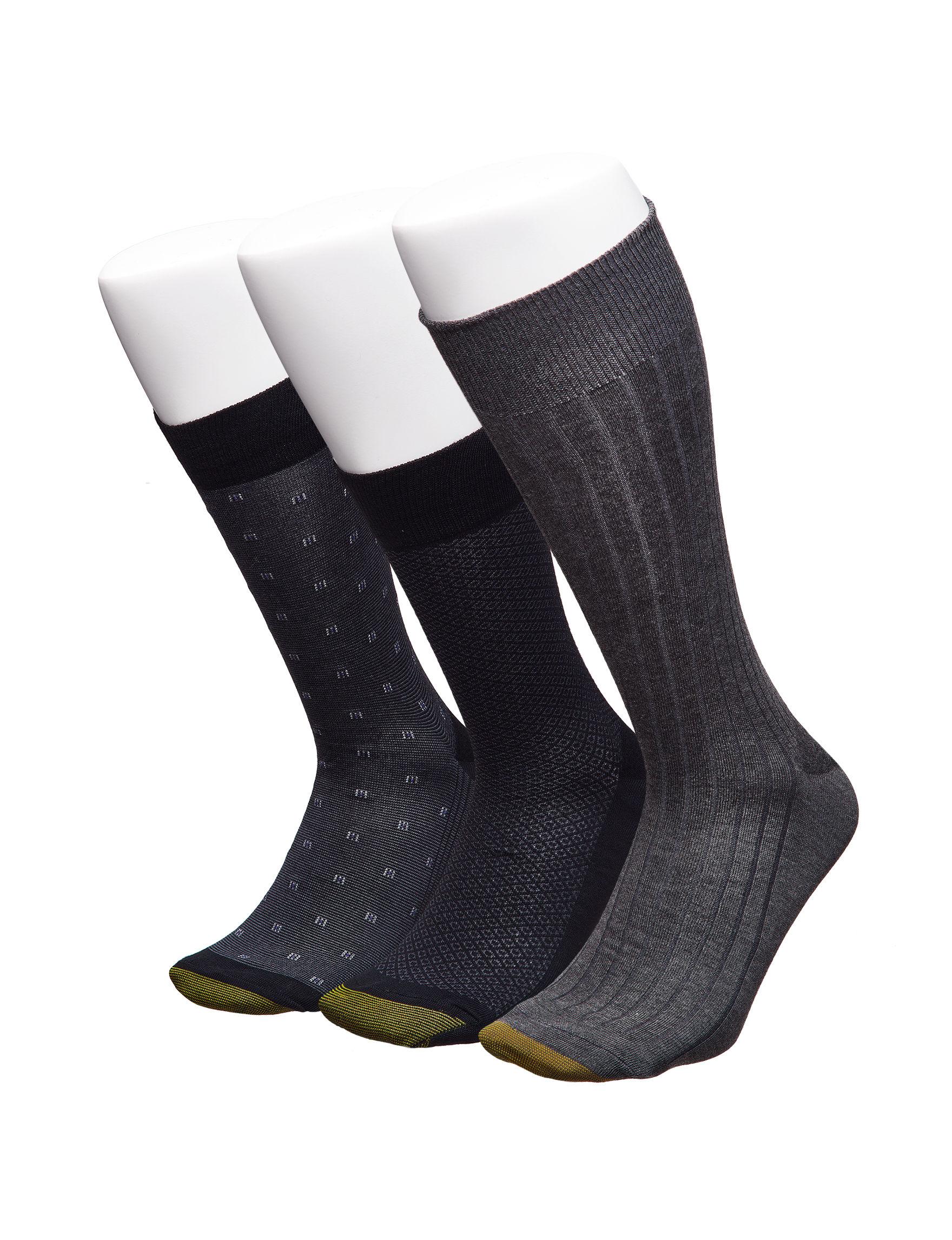 Gold Toe Grey Socks