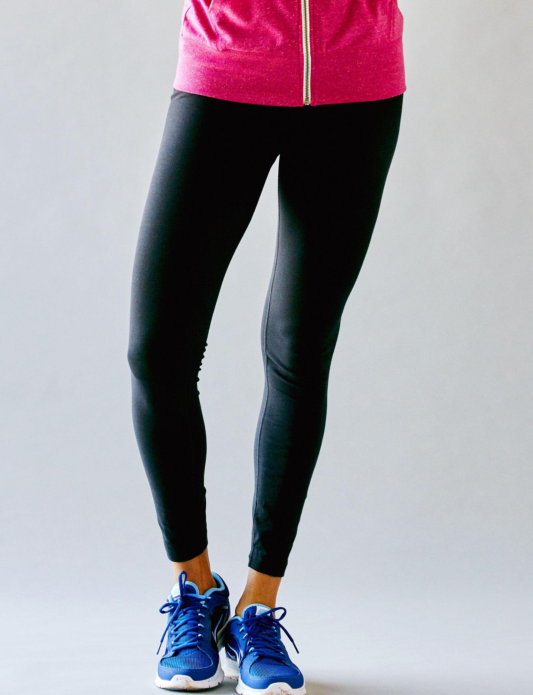 Nike Black /  White Leggings Stretch