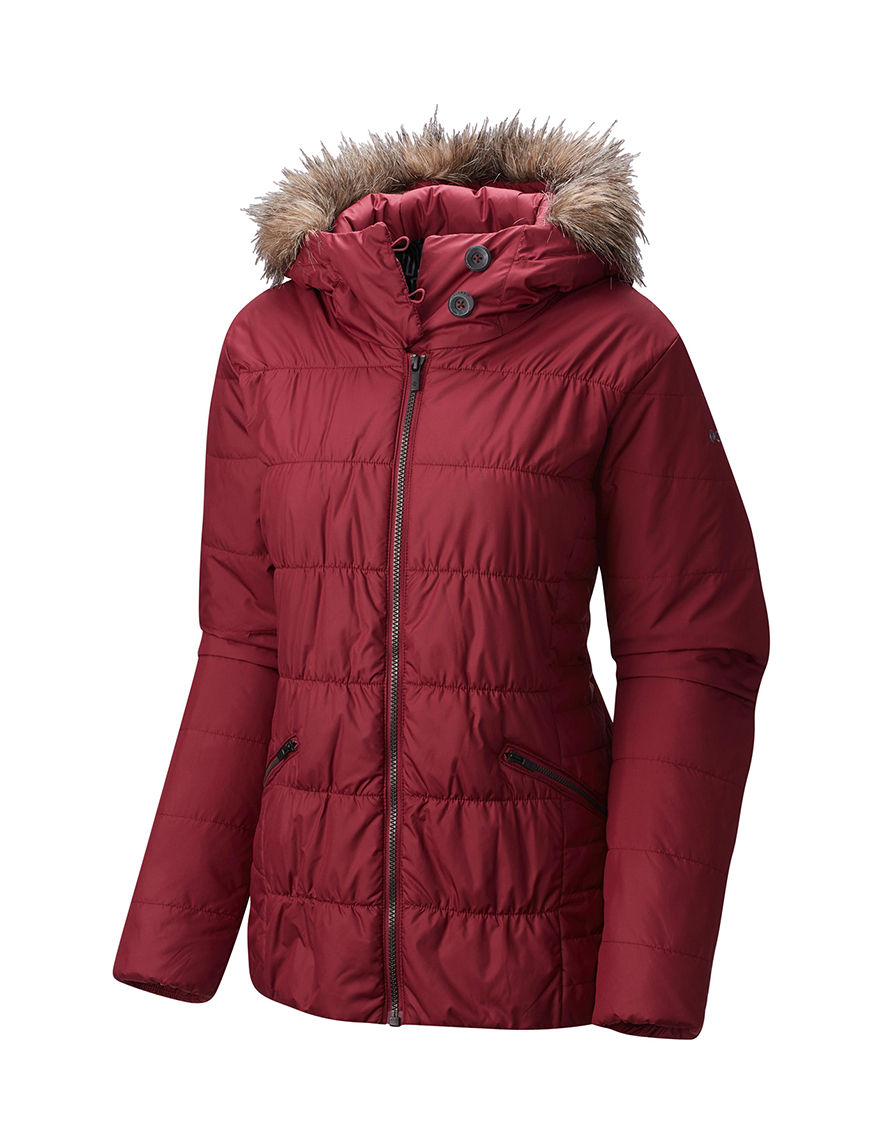 Columbia Pink Puffer & Quilted Jackets