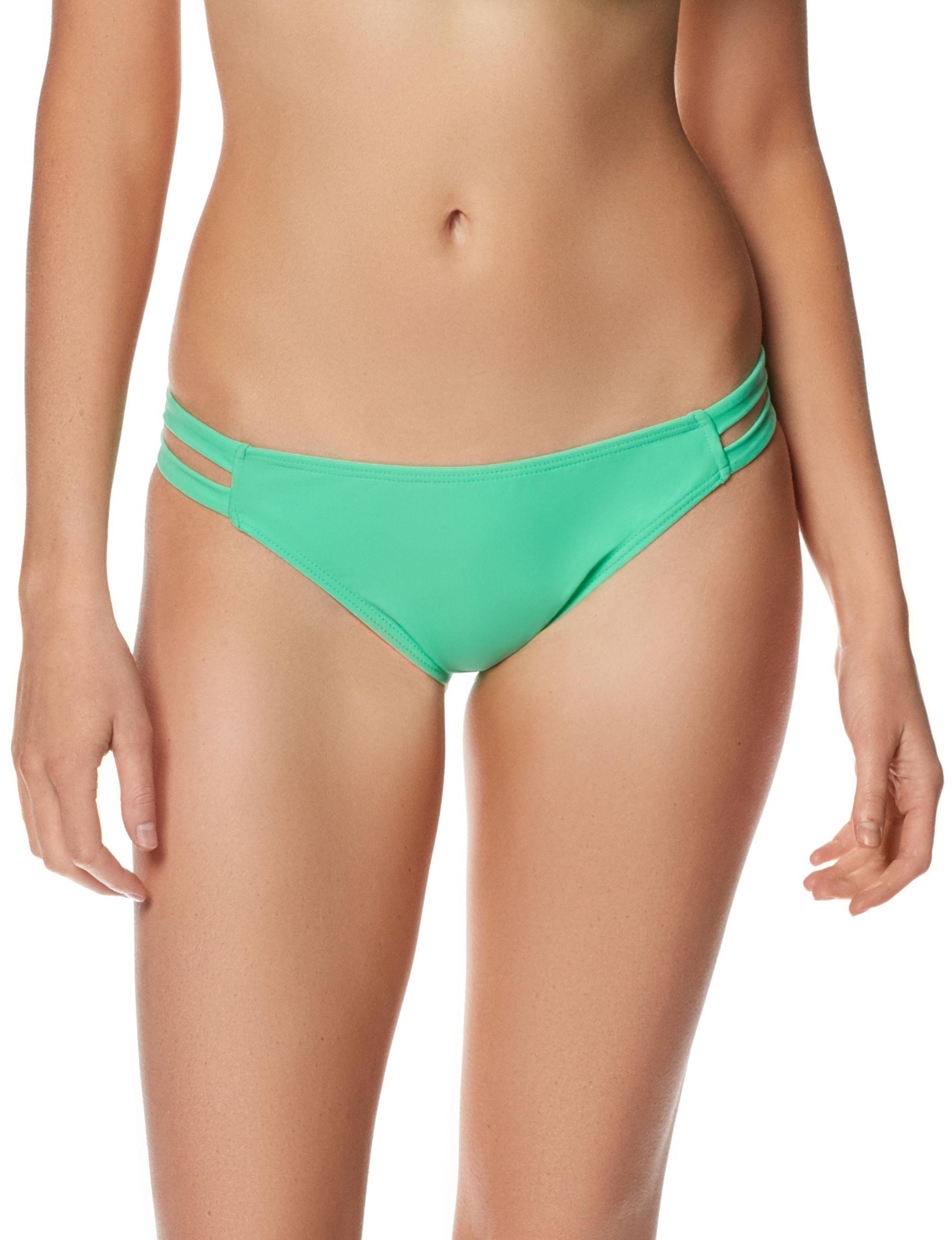 In Mocean Light Green Swimsuit Bottoms Hipster