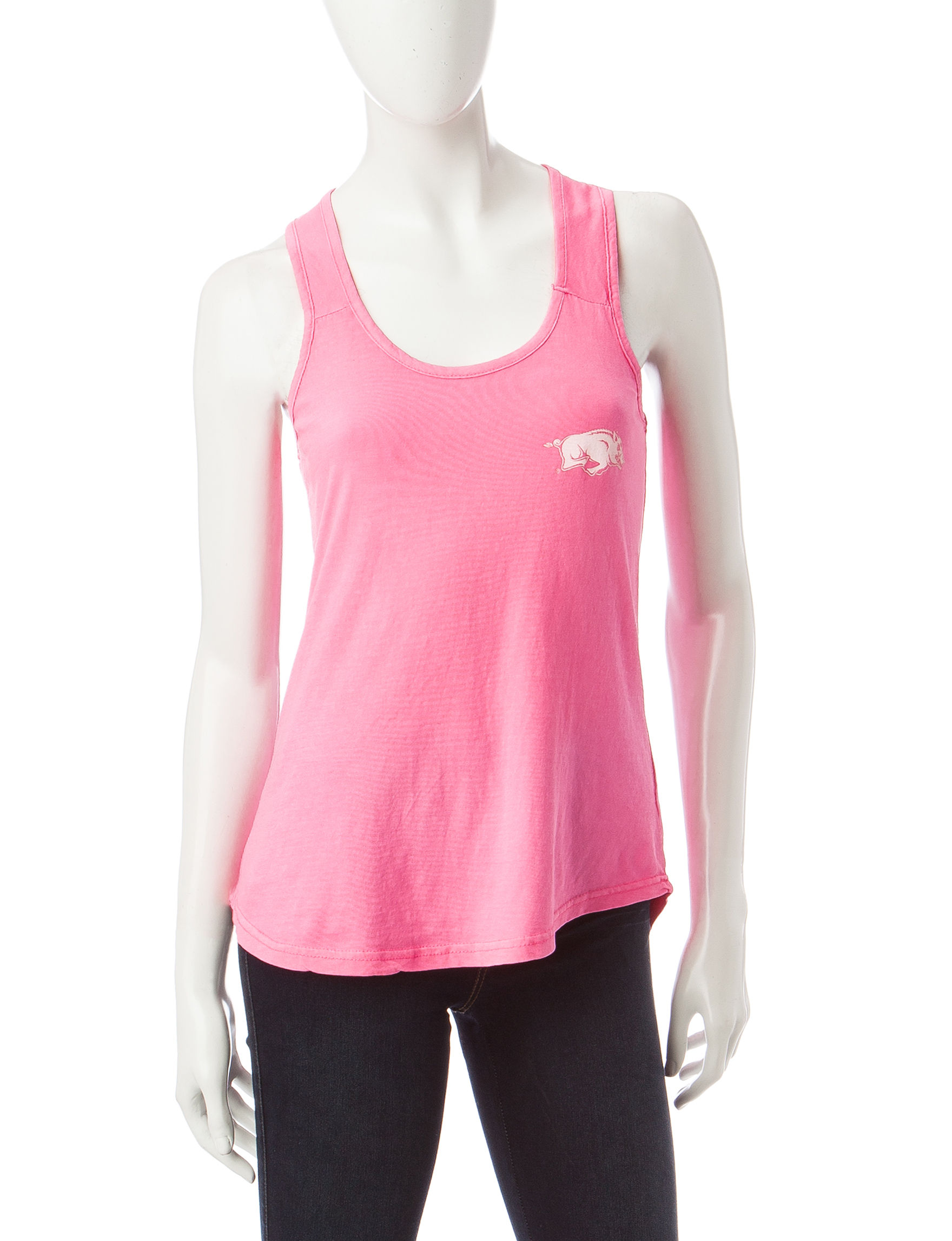 NCAA Neon Pink Camisoles & Tanks Tees & Tanks