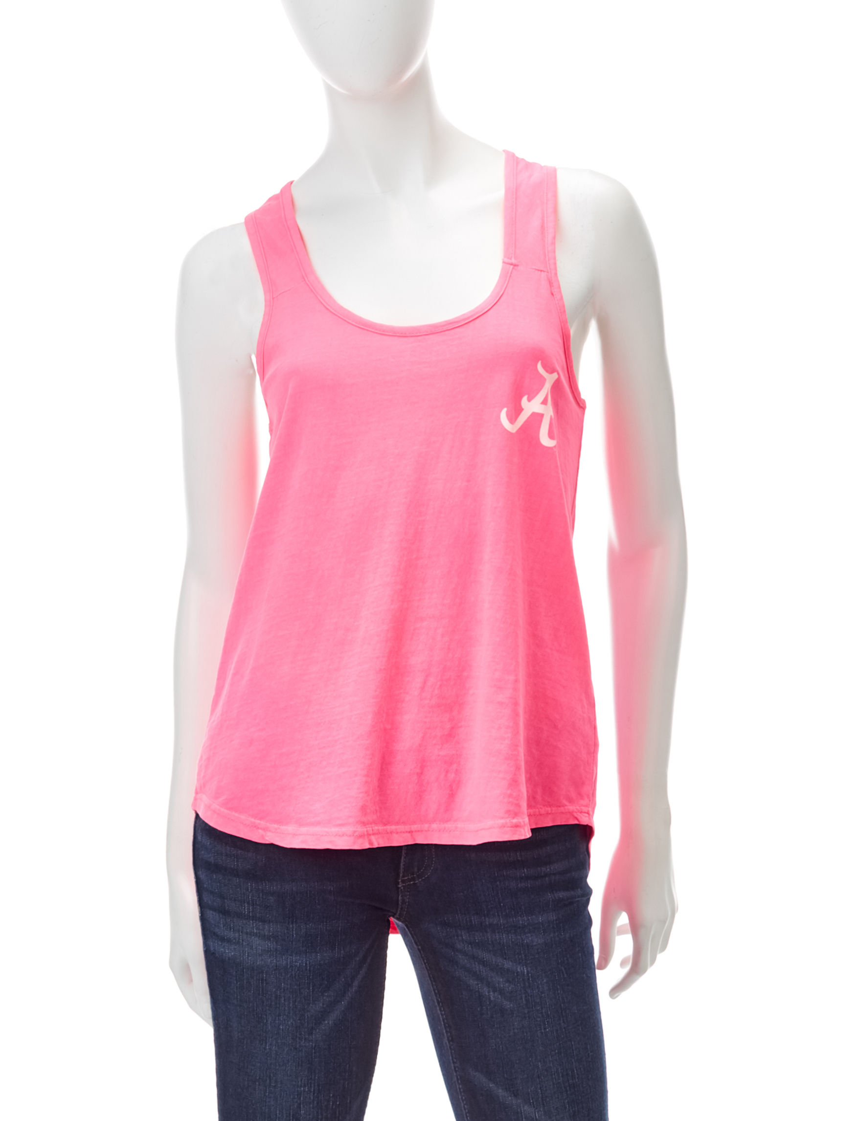 NCAA Pink Tees & Tanks