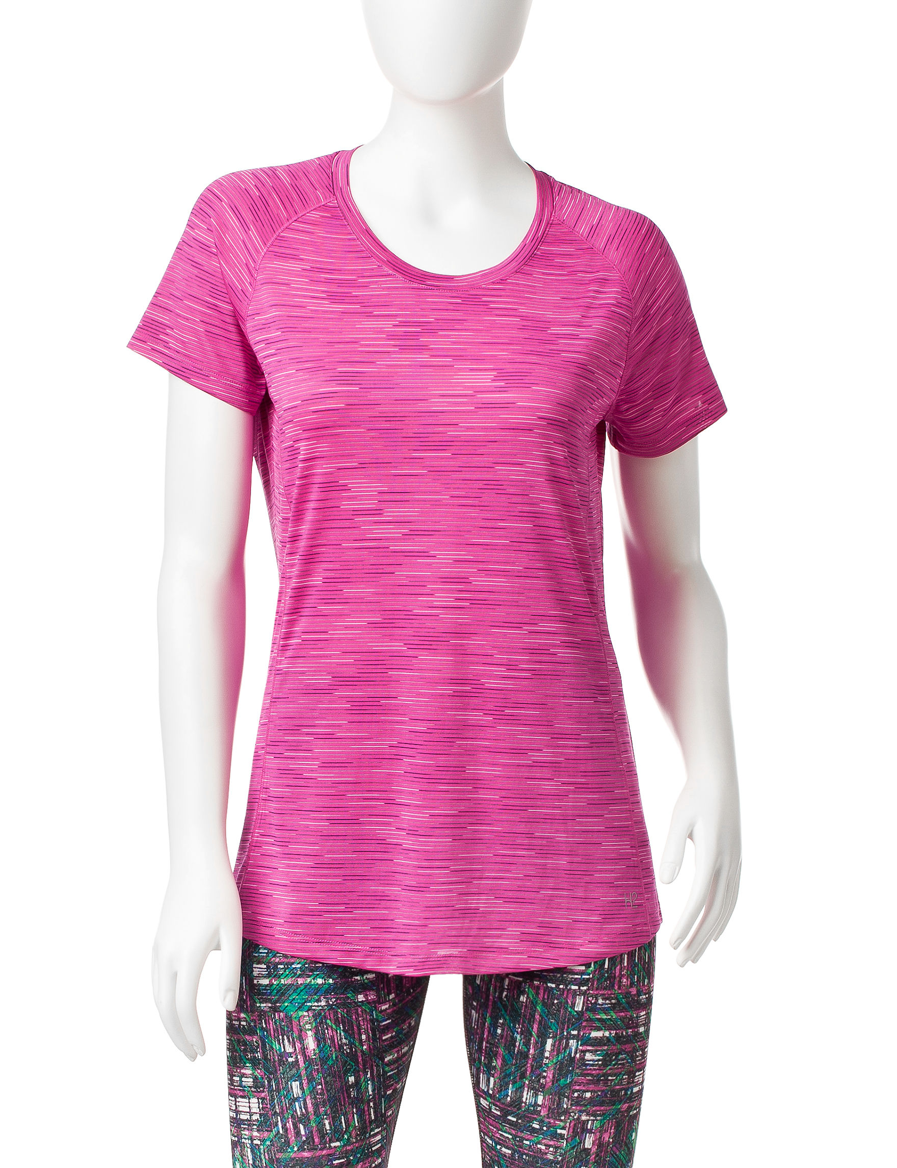 H2 Hannah Performance Pink Tees & Tanks