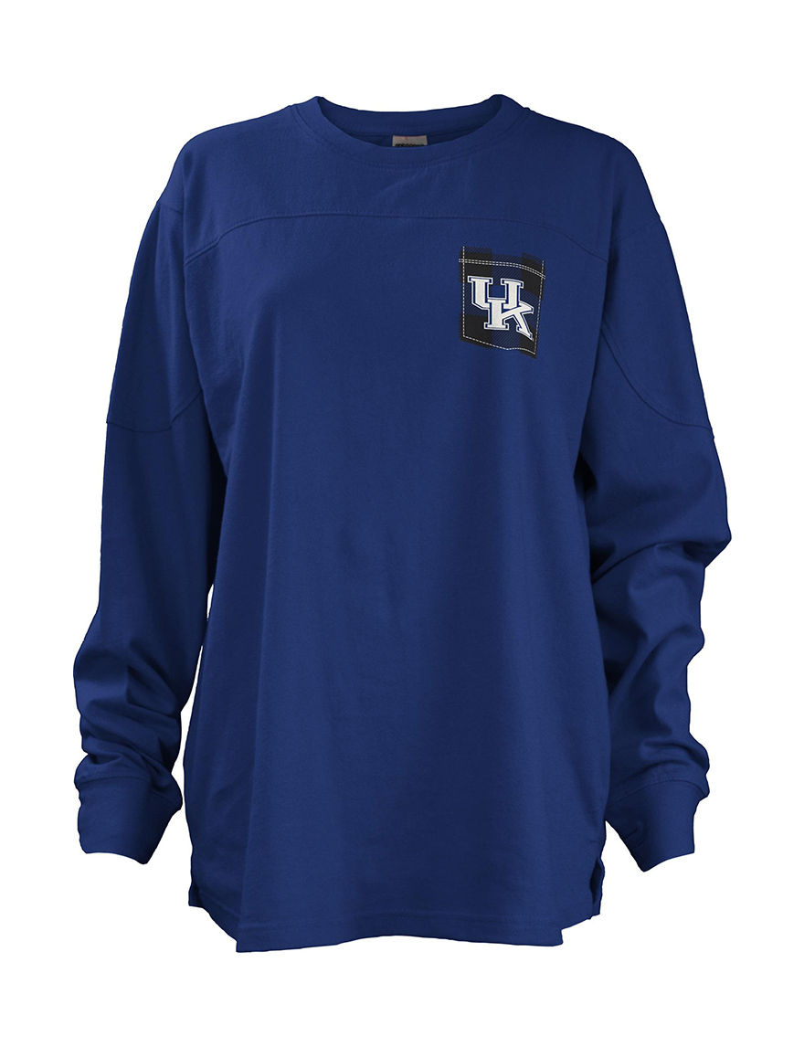 NCAA Royal Blue Pull-overs Tees & Tanks