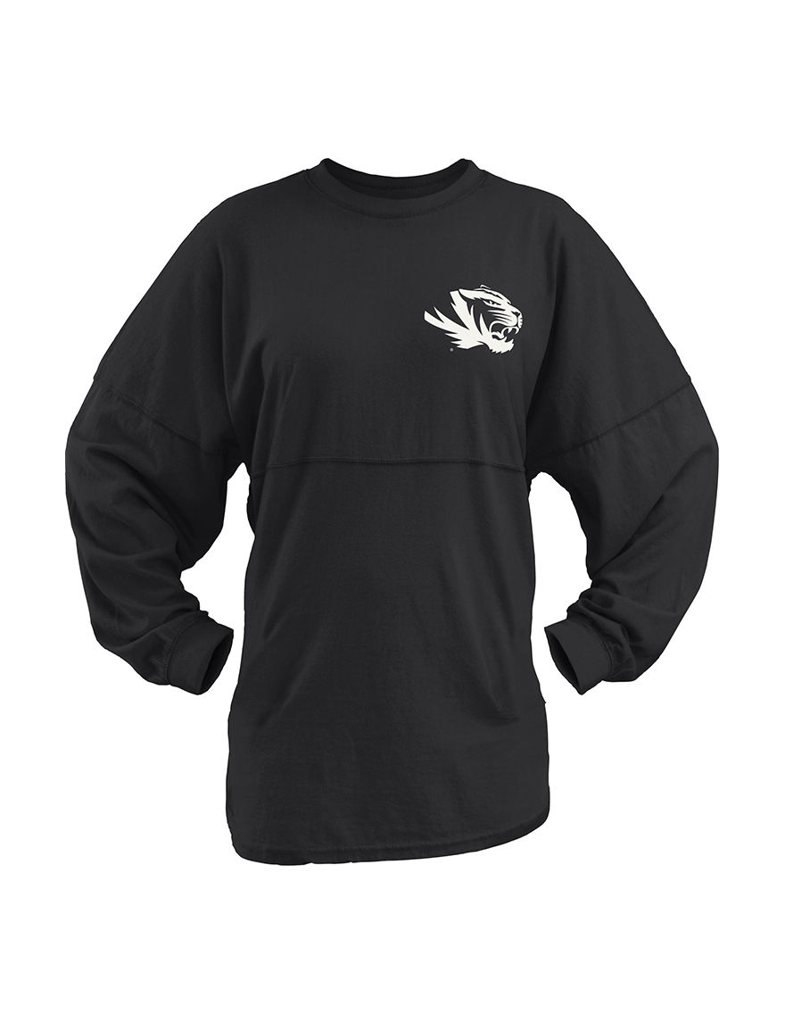 NCAA Black Shirts & Blouses Tees & Tanks