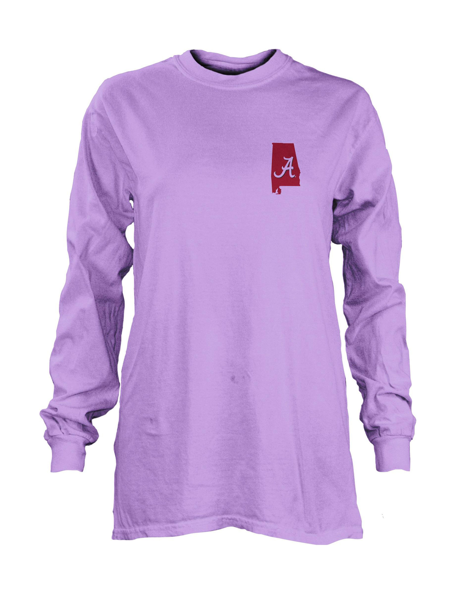NCAA Lilac Tees & Tanks