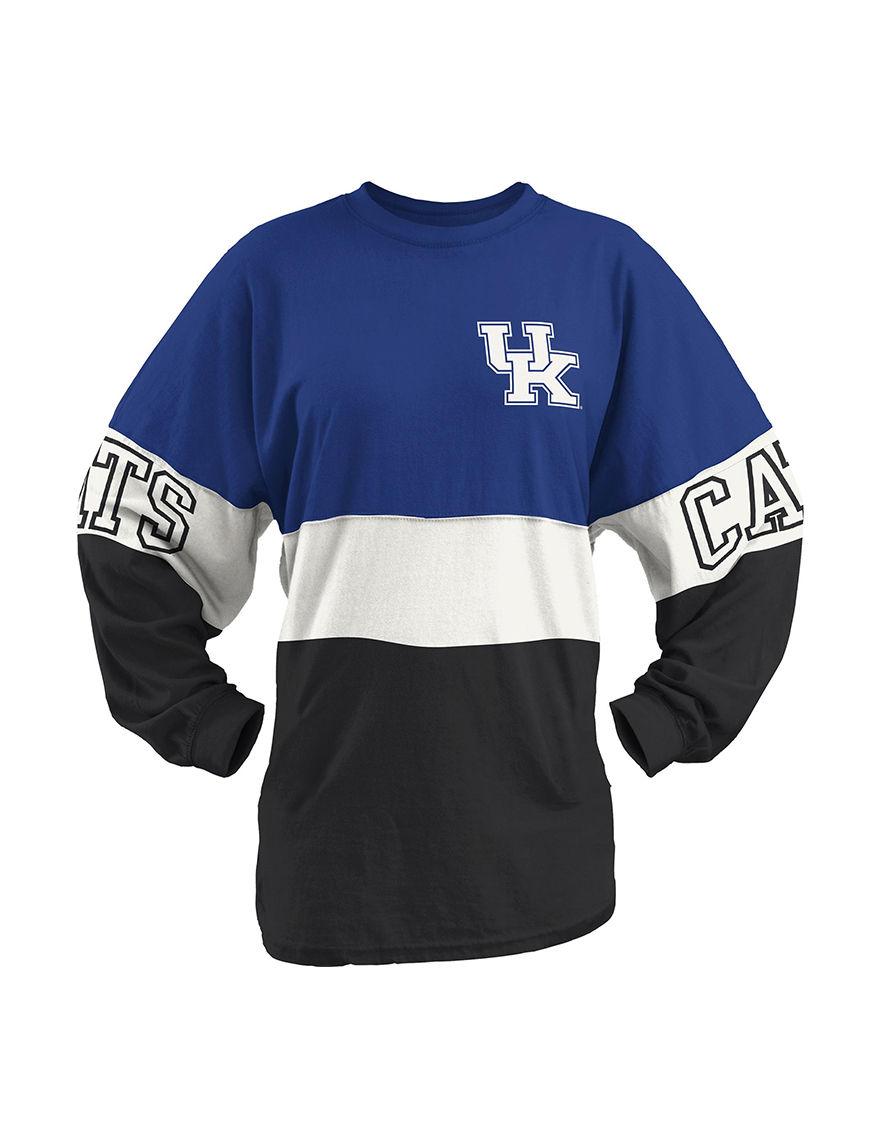 NCAA Blue / White / Black Tees & Tanks