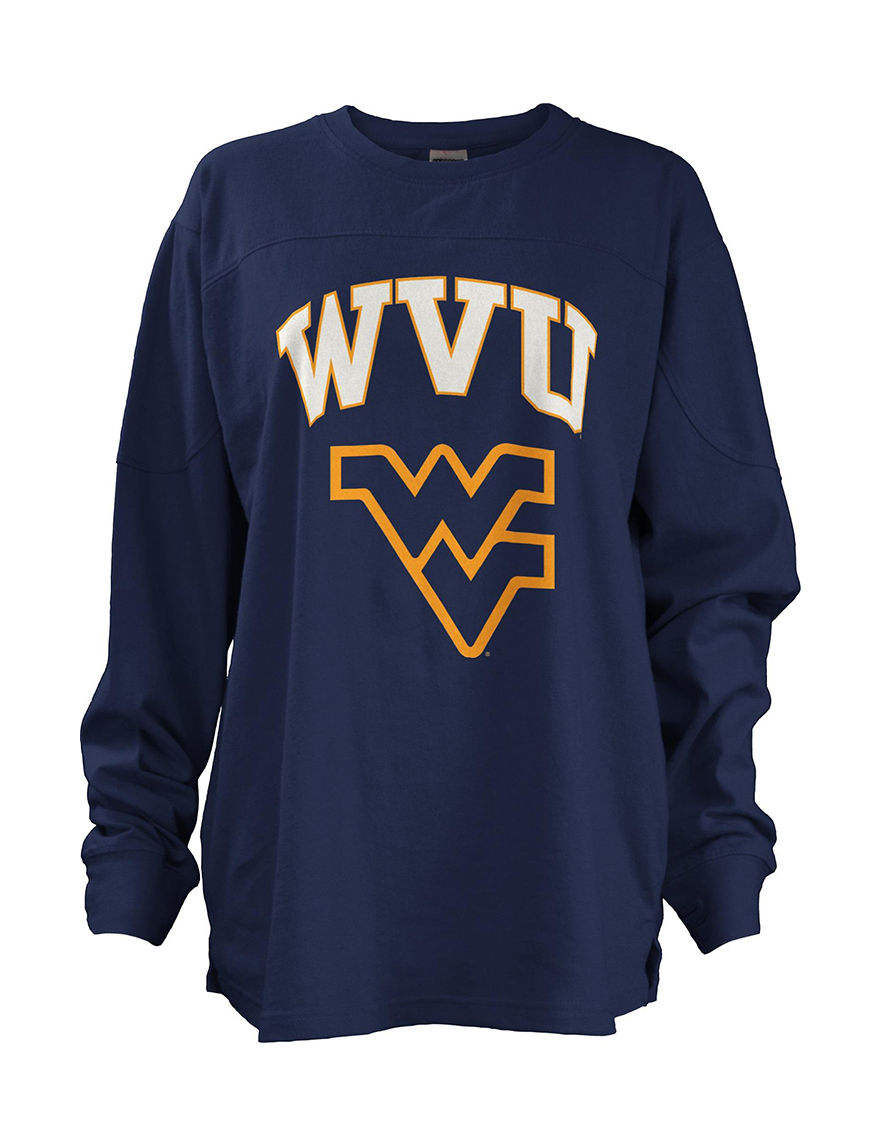 NCAA Navy Pull-overs Shirts & Blouses Tees & Tanks