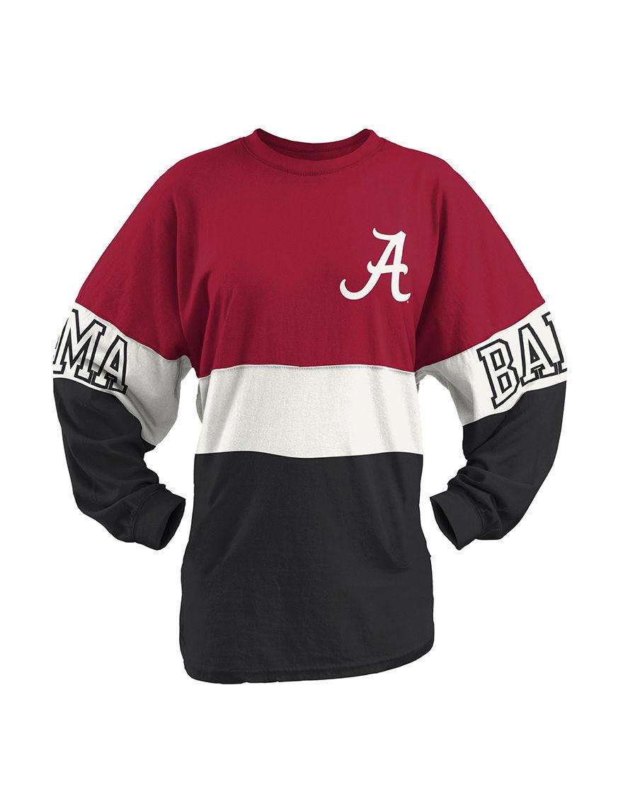NCAA Red / Black / White Tees & Tanks
