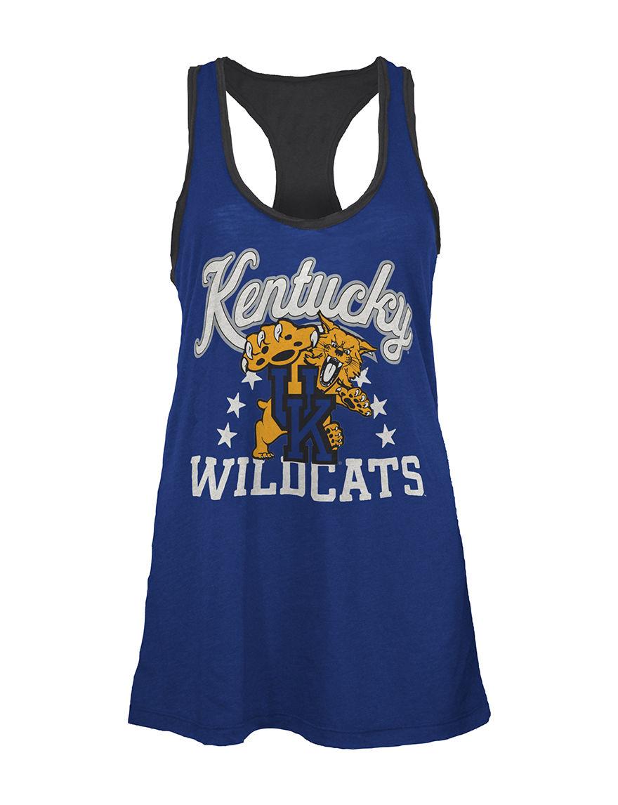 NCAA Blue Tees & Tanks