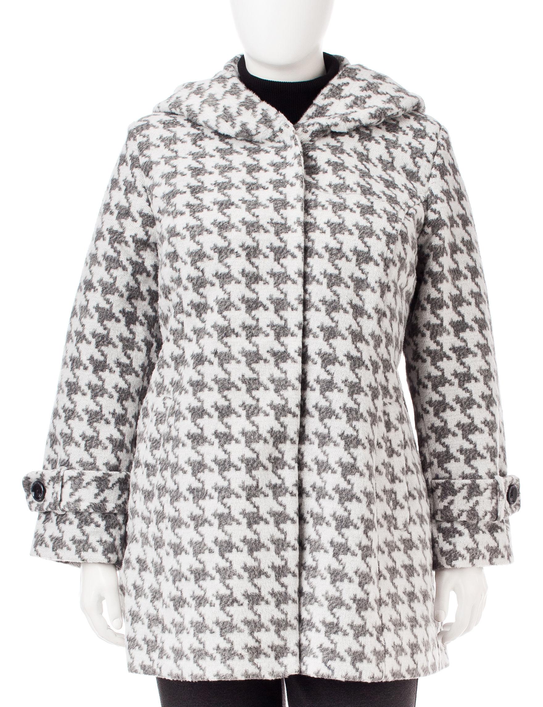 Valerie Stevens Brown Peacoats & Overcoats