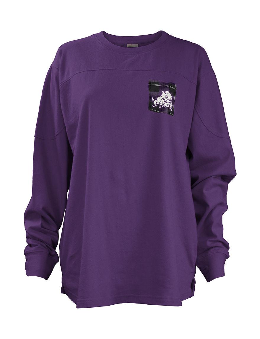 NCAA Purple Shirts & Blouses