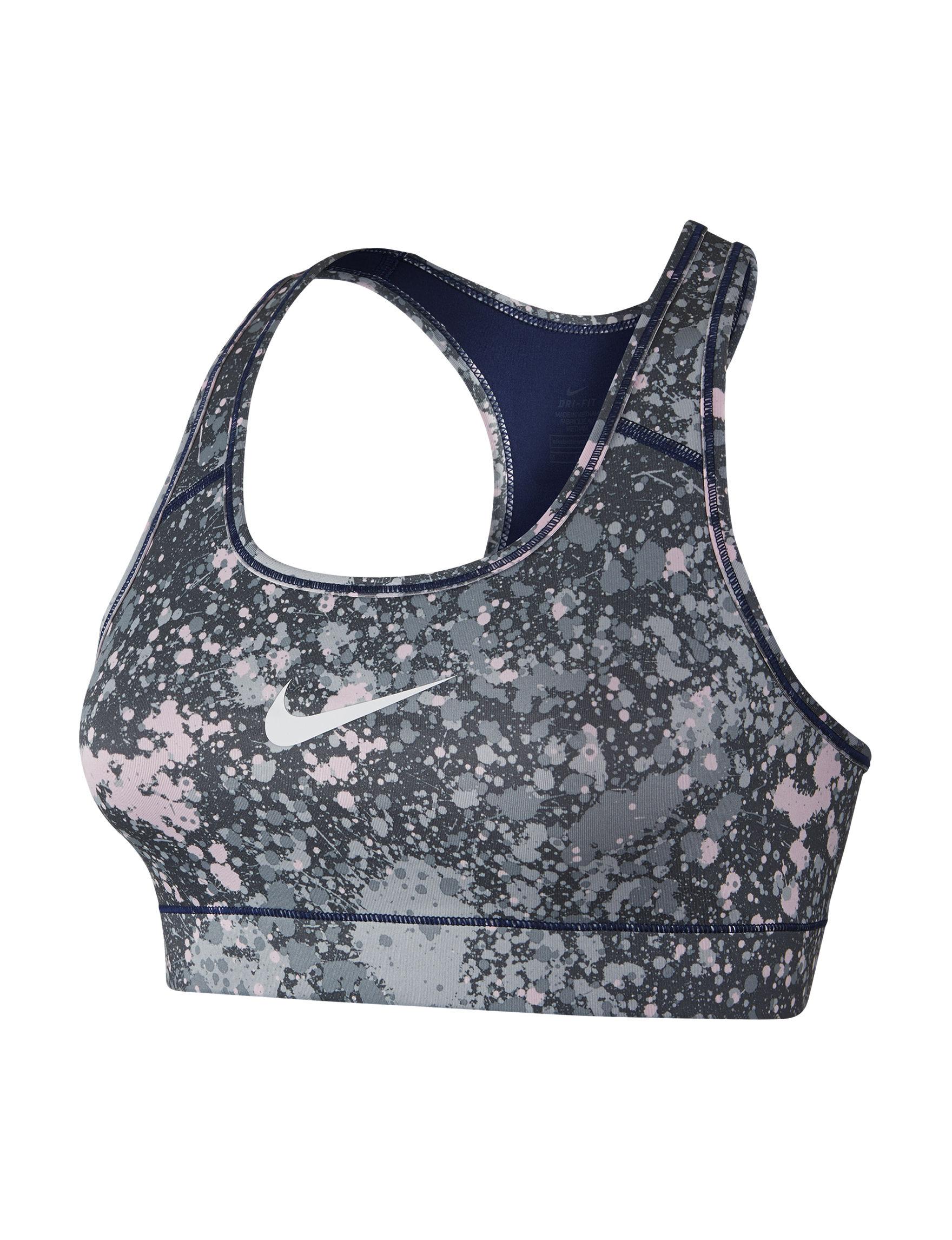 Nike Blue Bras Sports Bra