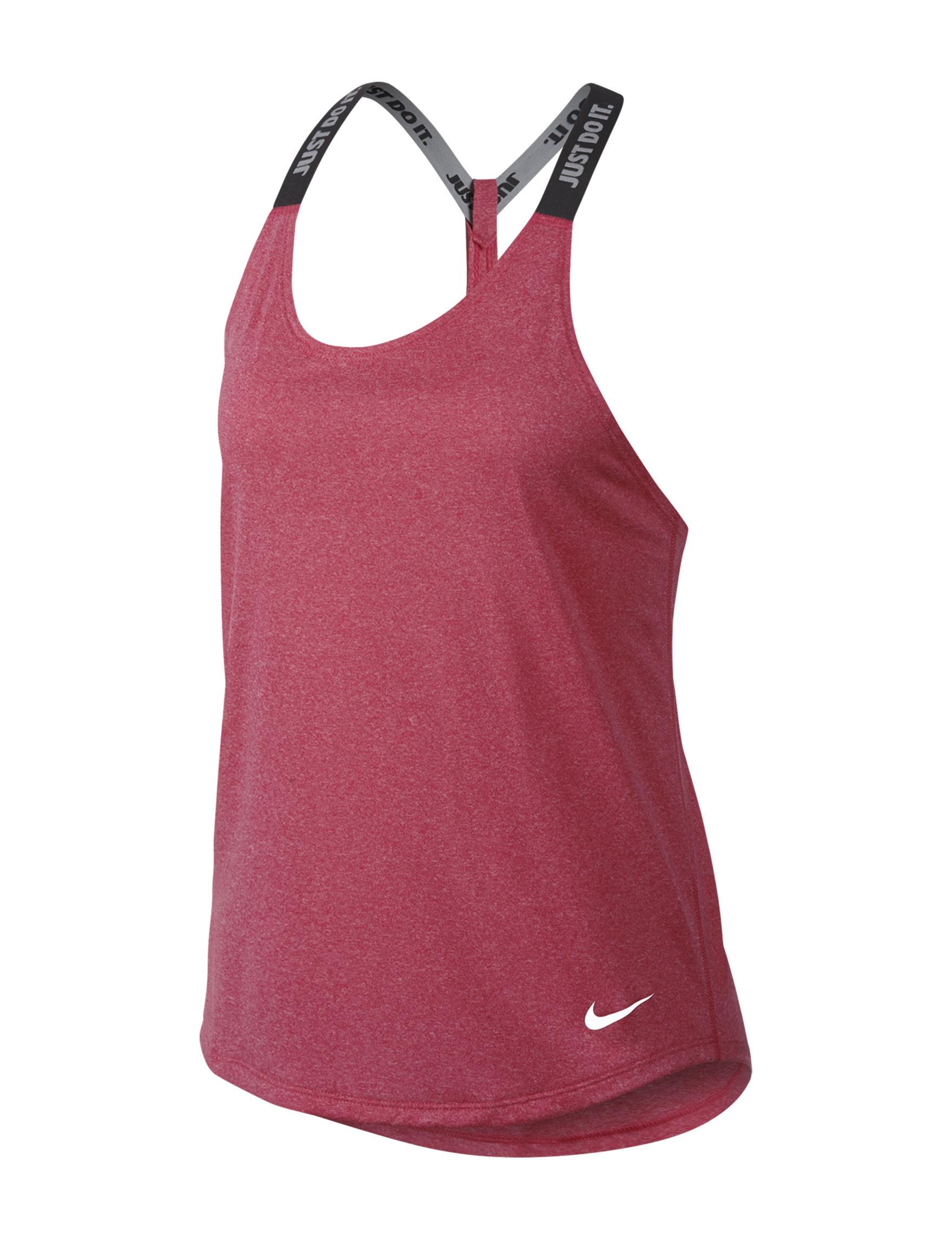 Nike Pink / Green Tees & Tanks