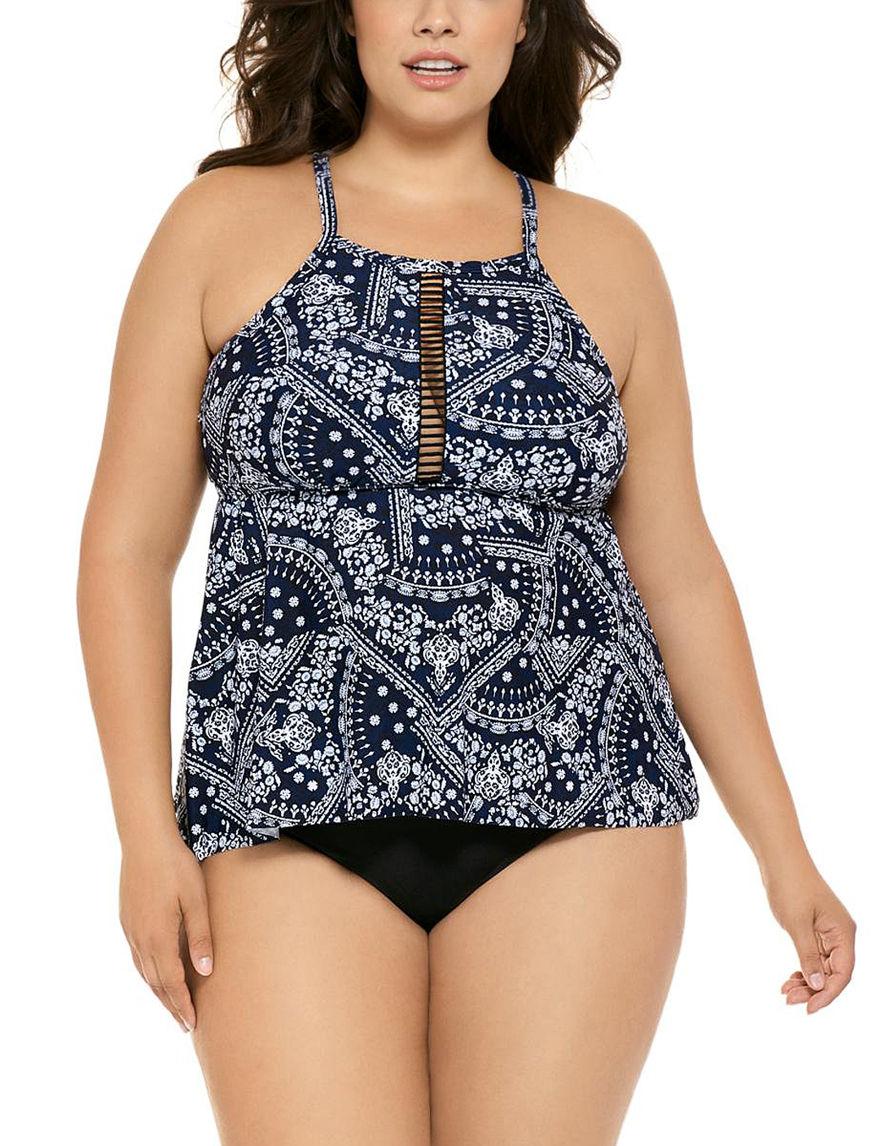 Costa del Sol Black Swimsuit Bottoms High Waist