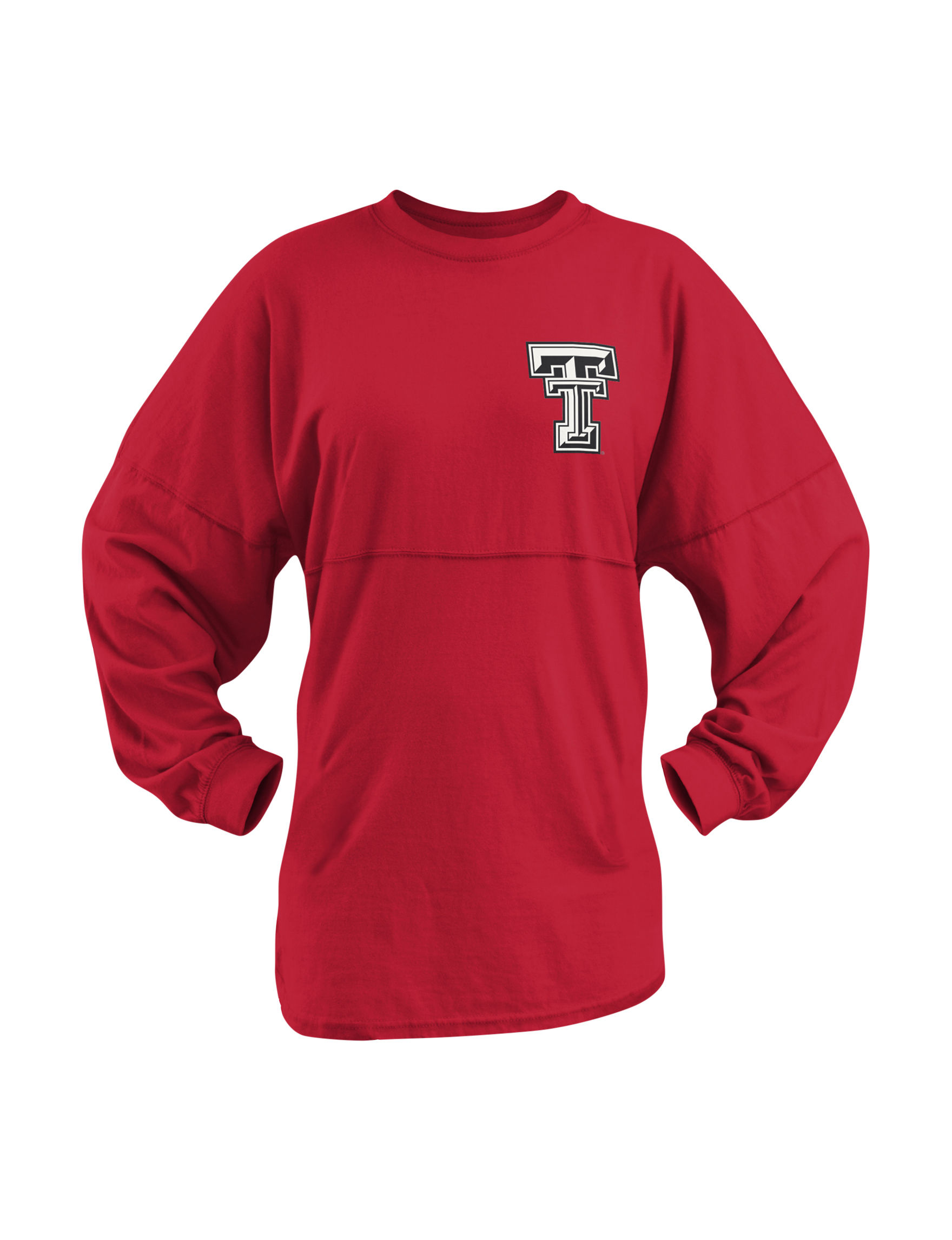 NCAA Red Pull-overs Shirts & Blouses Tees & Tanks