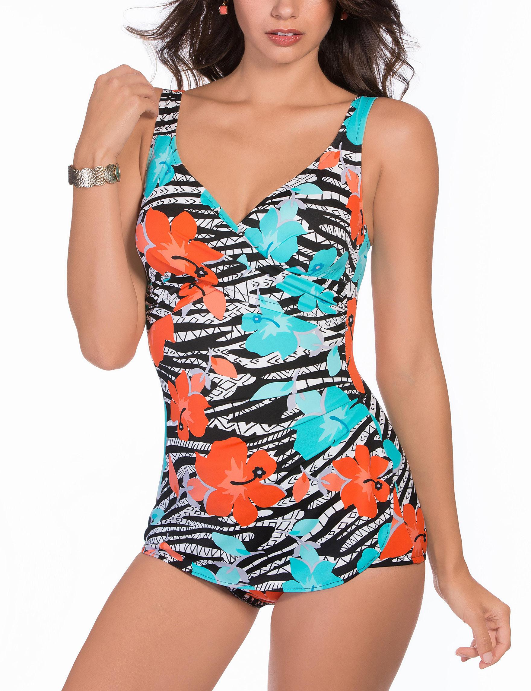 Penbrooke Multi One-piece Swimsuits