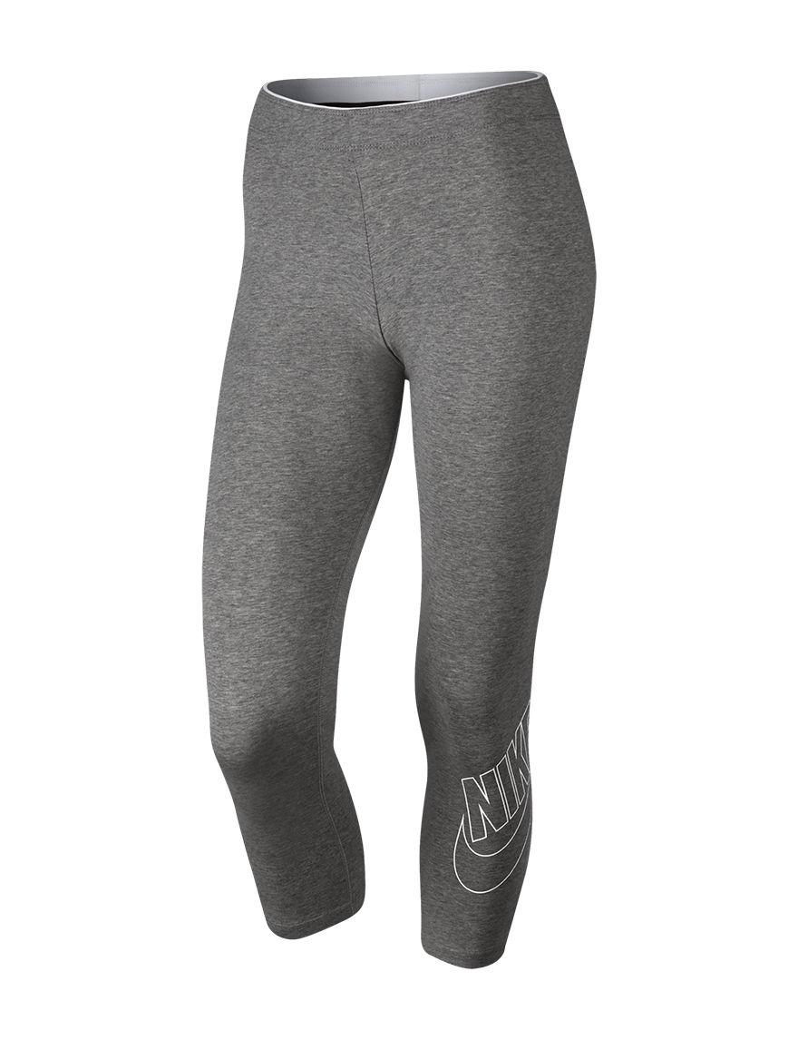Nike Heather Grey Leggings