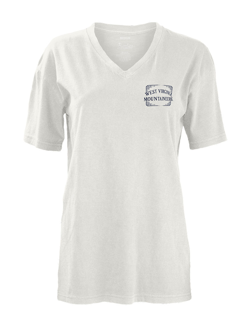 NCAA White Tees & Tanks