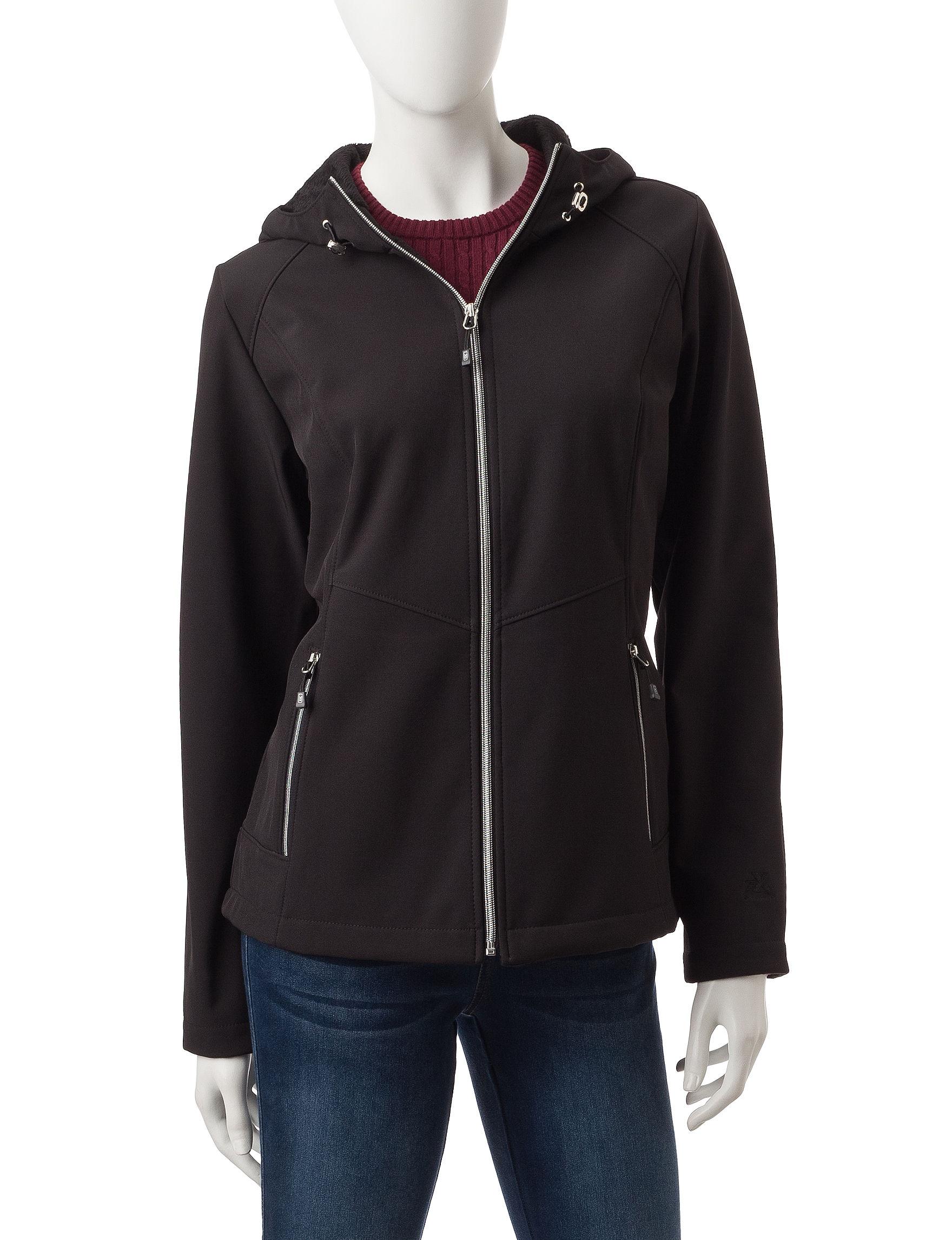 Zero Xposur Black Fleece & Soft Shell Jackets