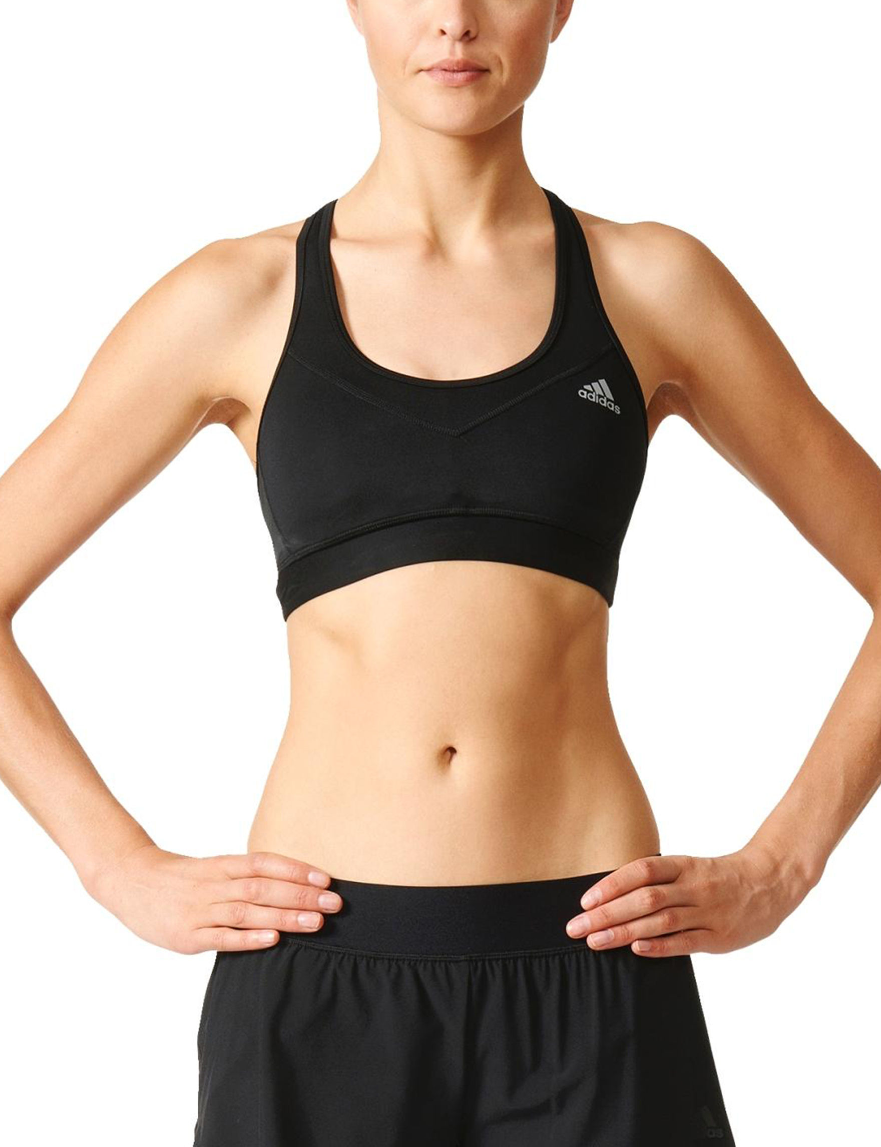 Adidas Black Bras Sports Bra
